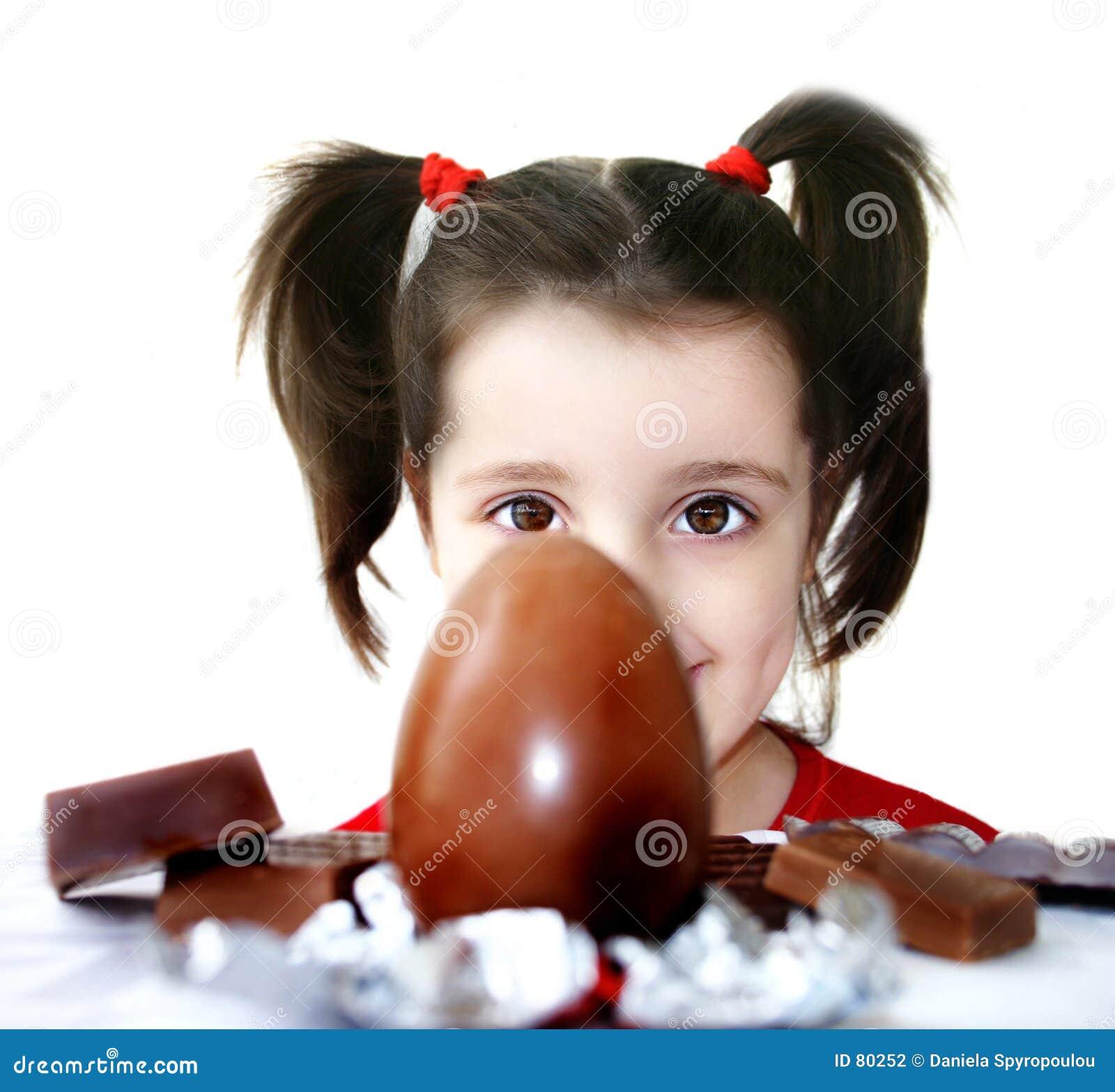 Download Jaja czekoladowe zdjęcie stock. Obraz złożonej z cukierki - 80252