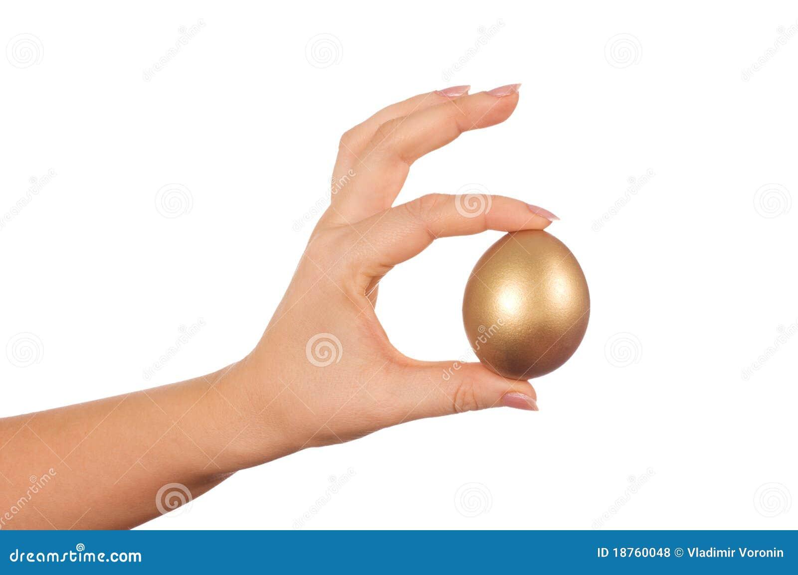 Jajeczna złota ręka