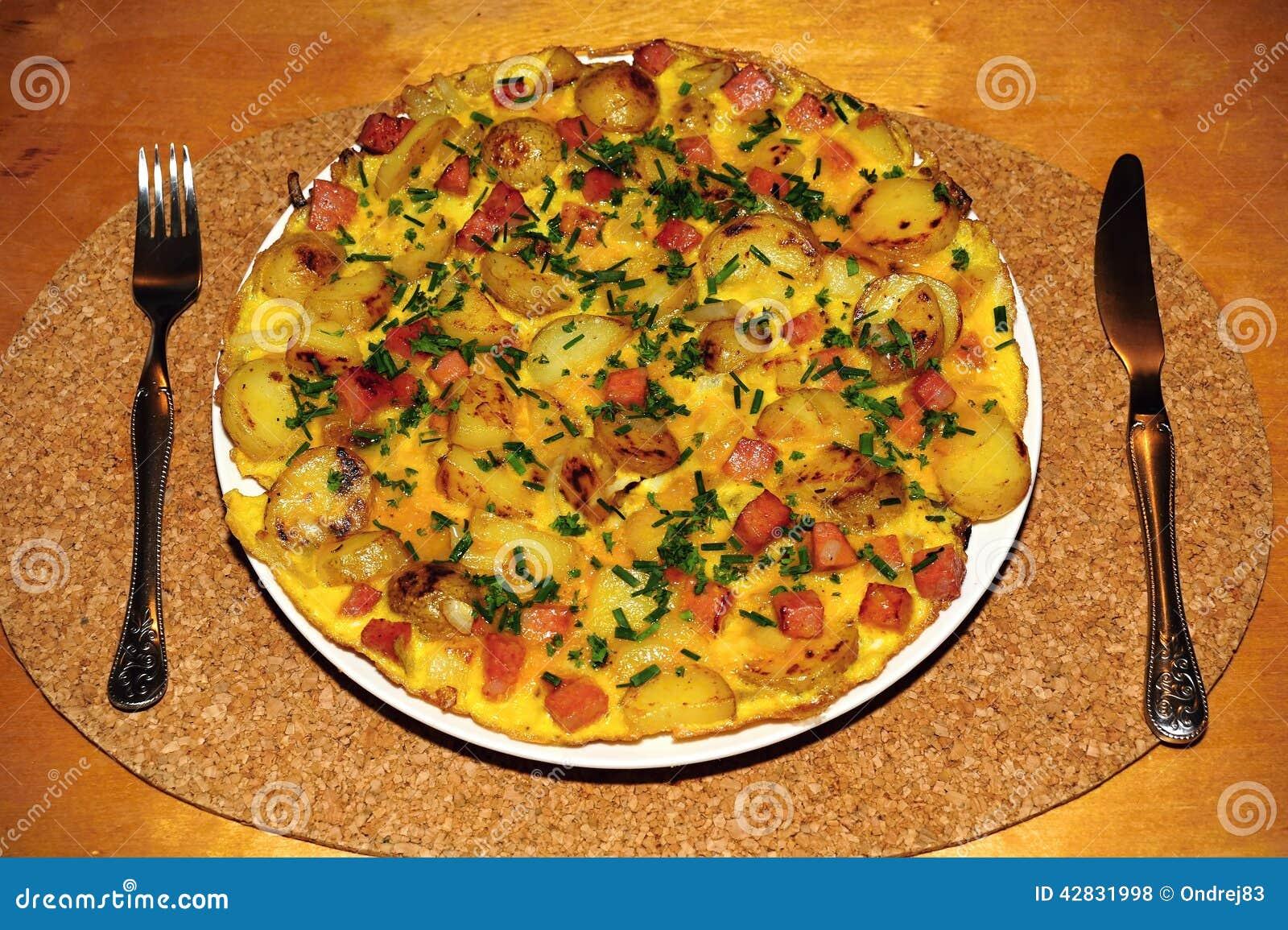 Jajeczny omlet