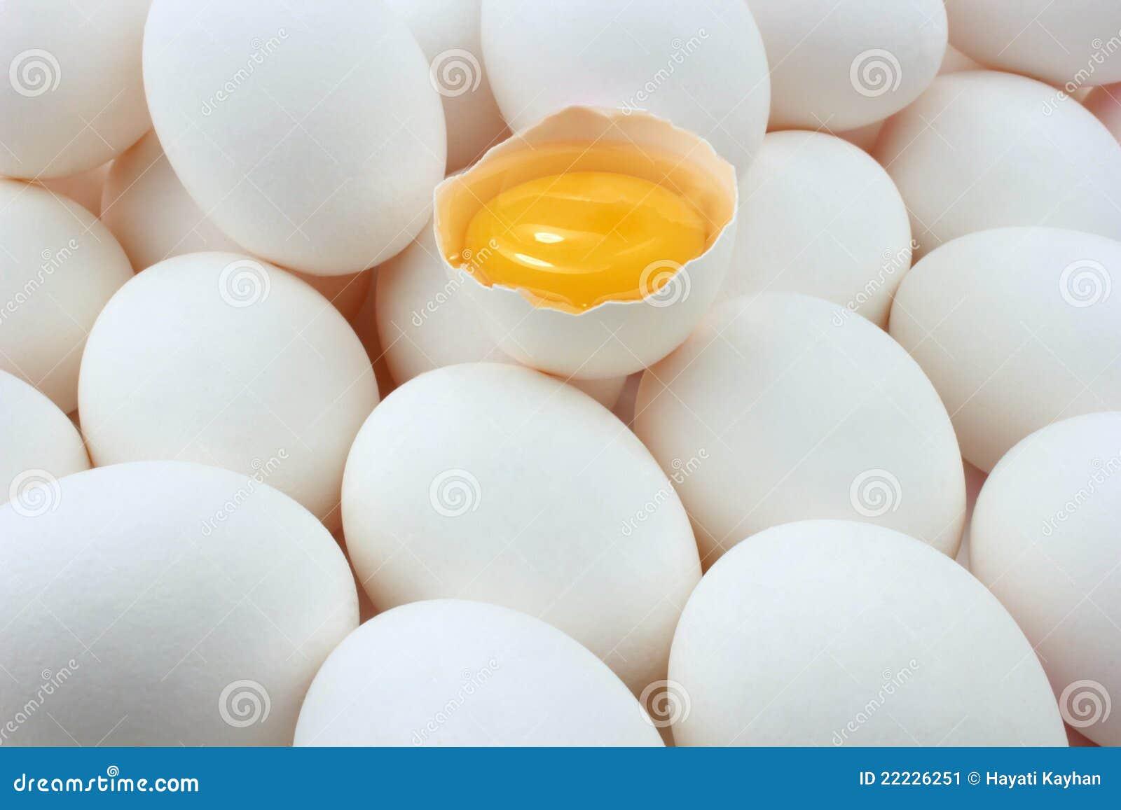Jajka jajeczny yolk