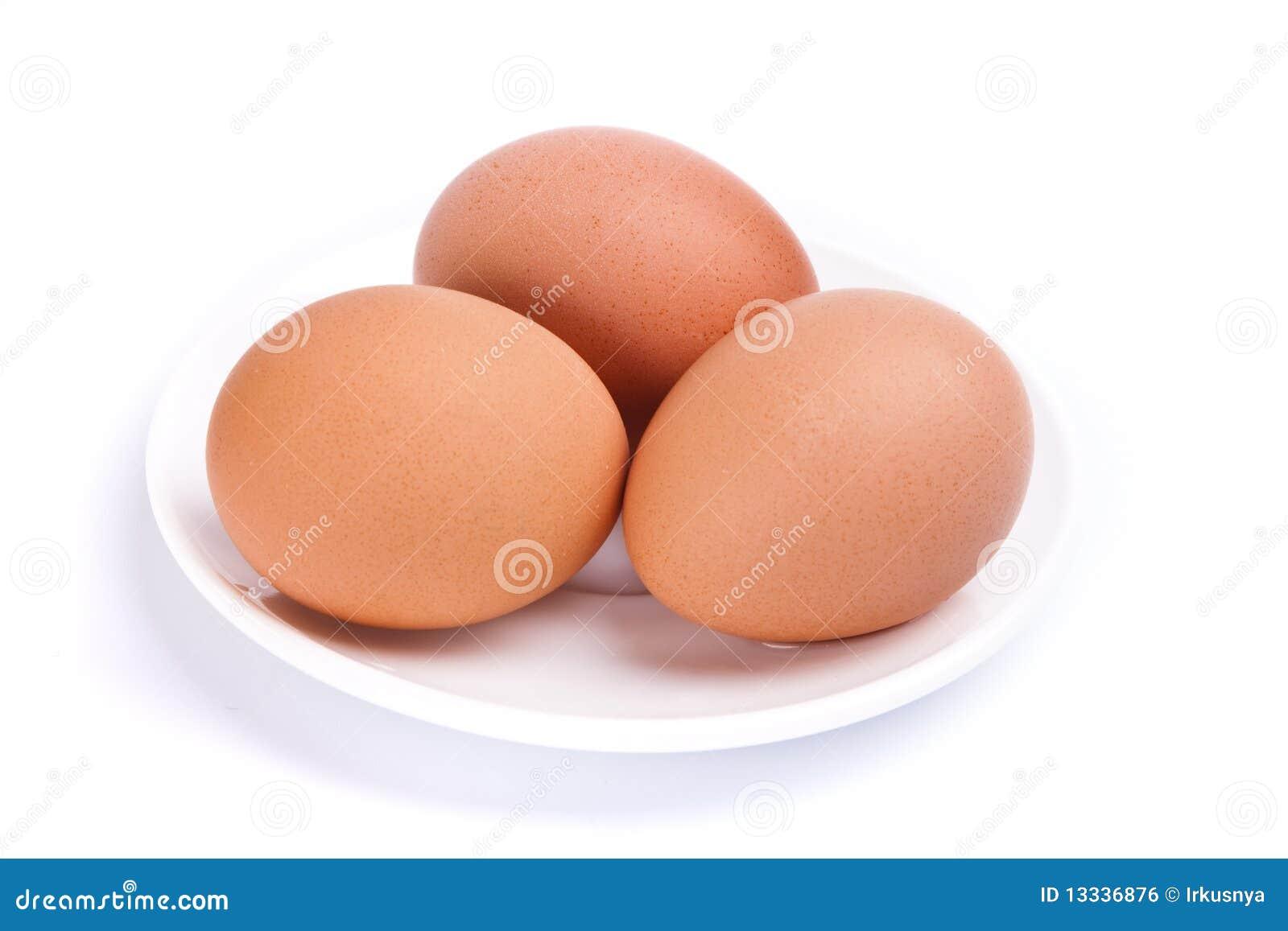 Jajka trzy