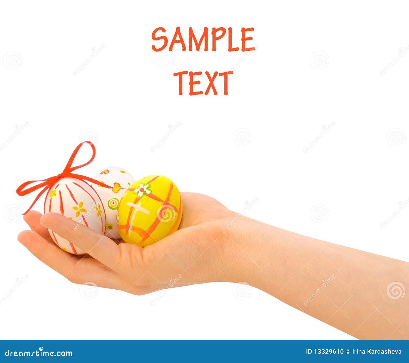 Jajko ręka