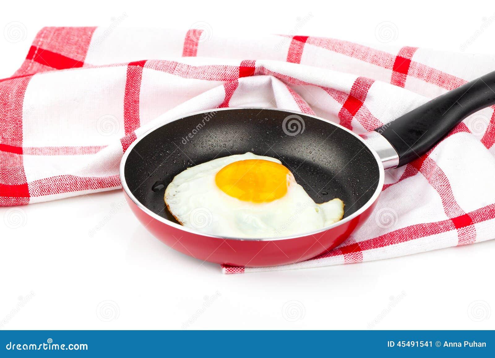 Jajko smażył target1071_0_ nieckę