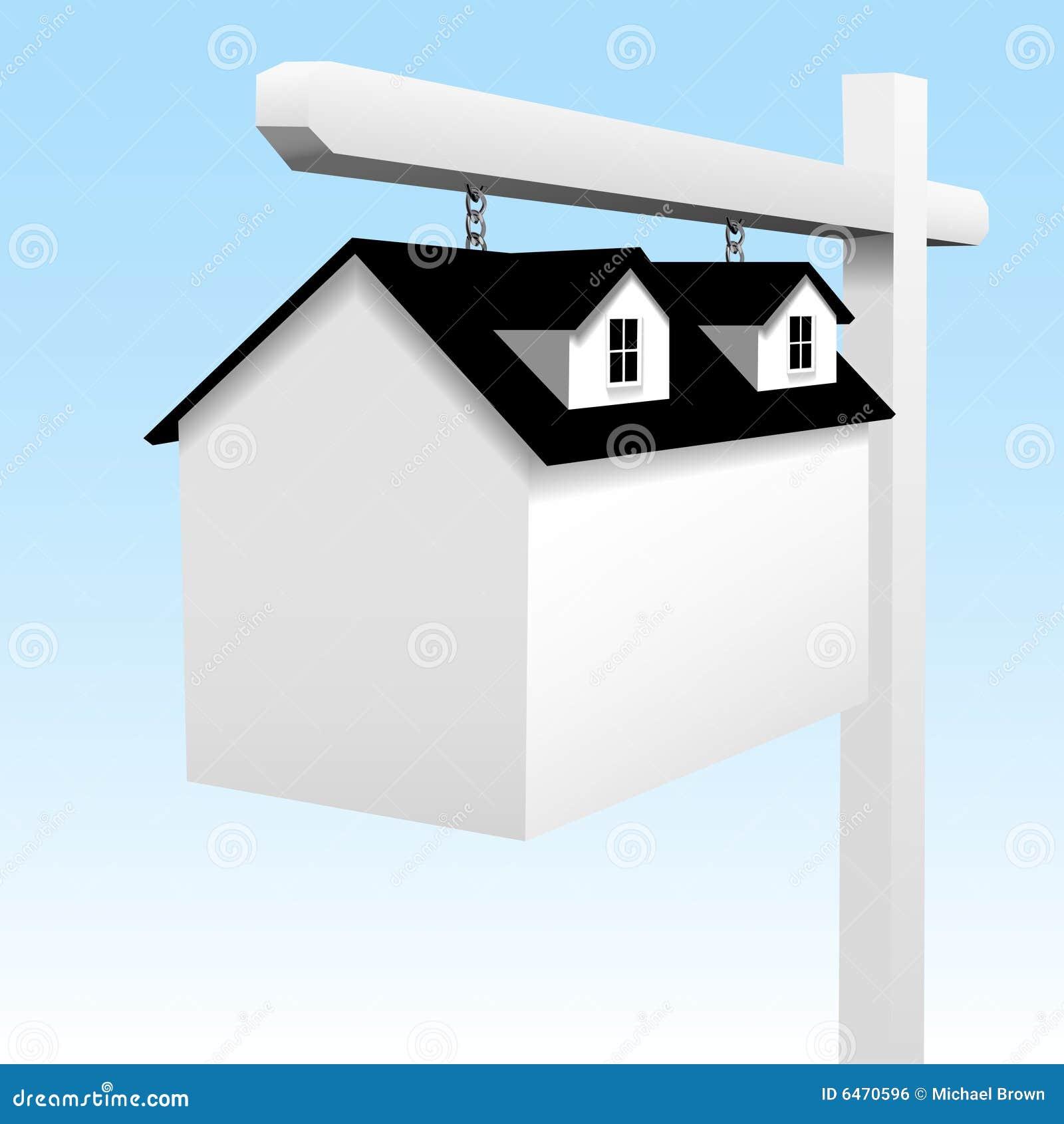 Jak prawdziwy ouse nieruchomości w domu na znak