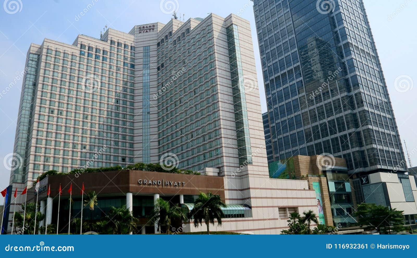 Hotel Grand Hyatt Jakarta Editorial Photo Image Of Hyatt 116932361