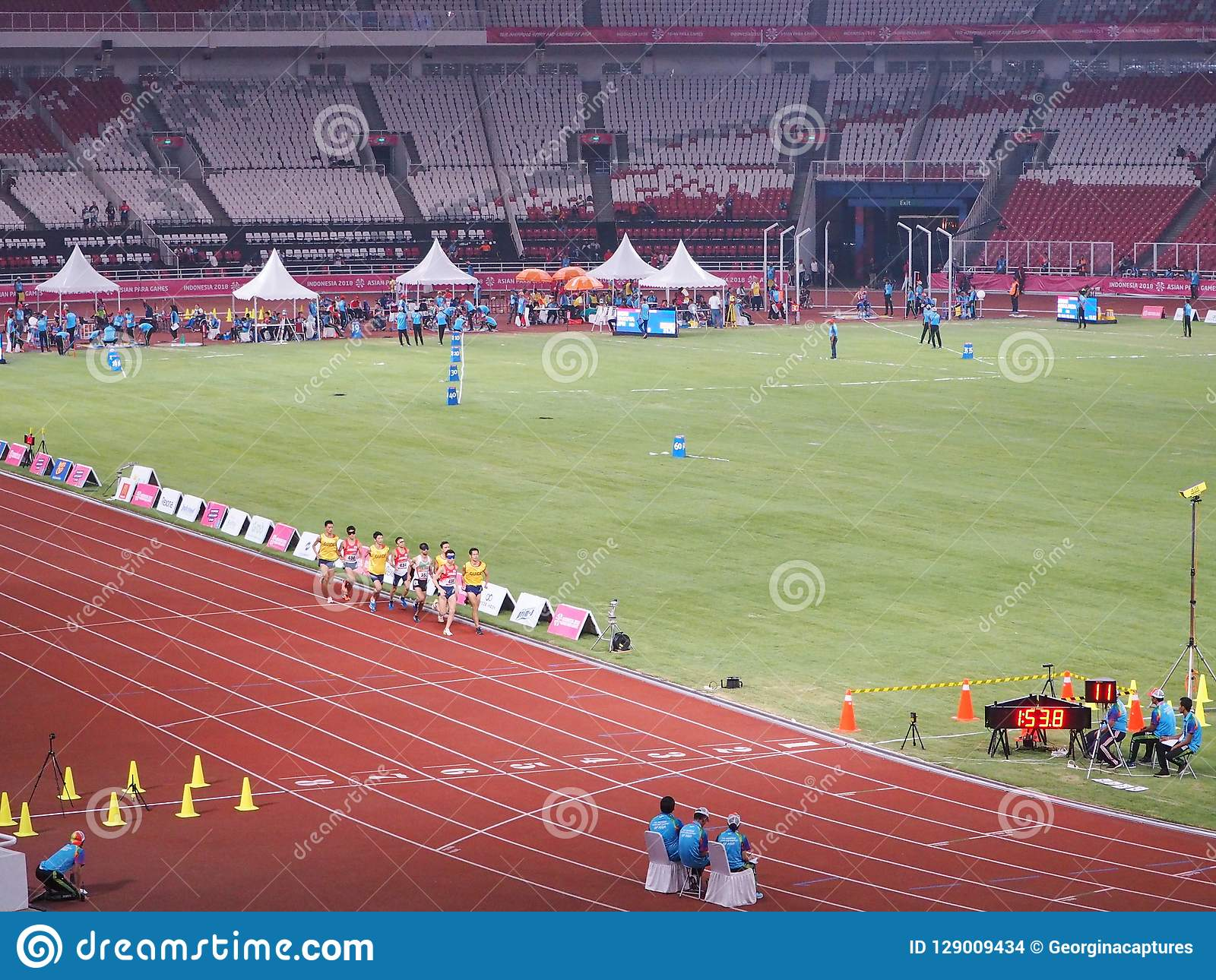 Gbk Sports Complex In Senayan Editorial Stock Image Image Of Main