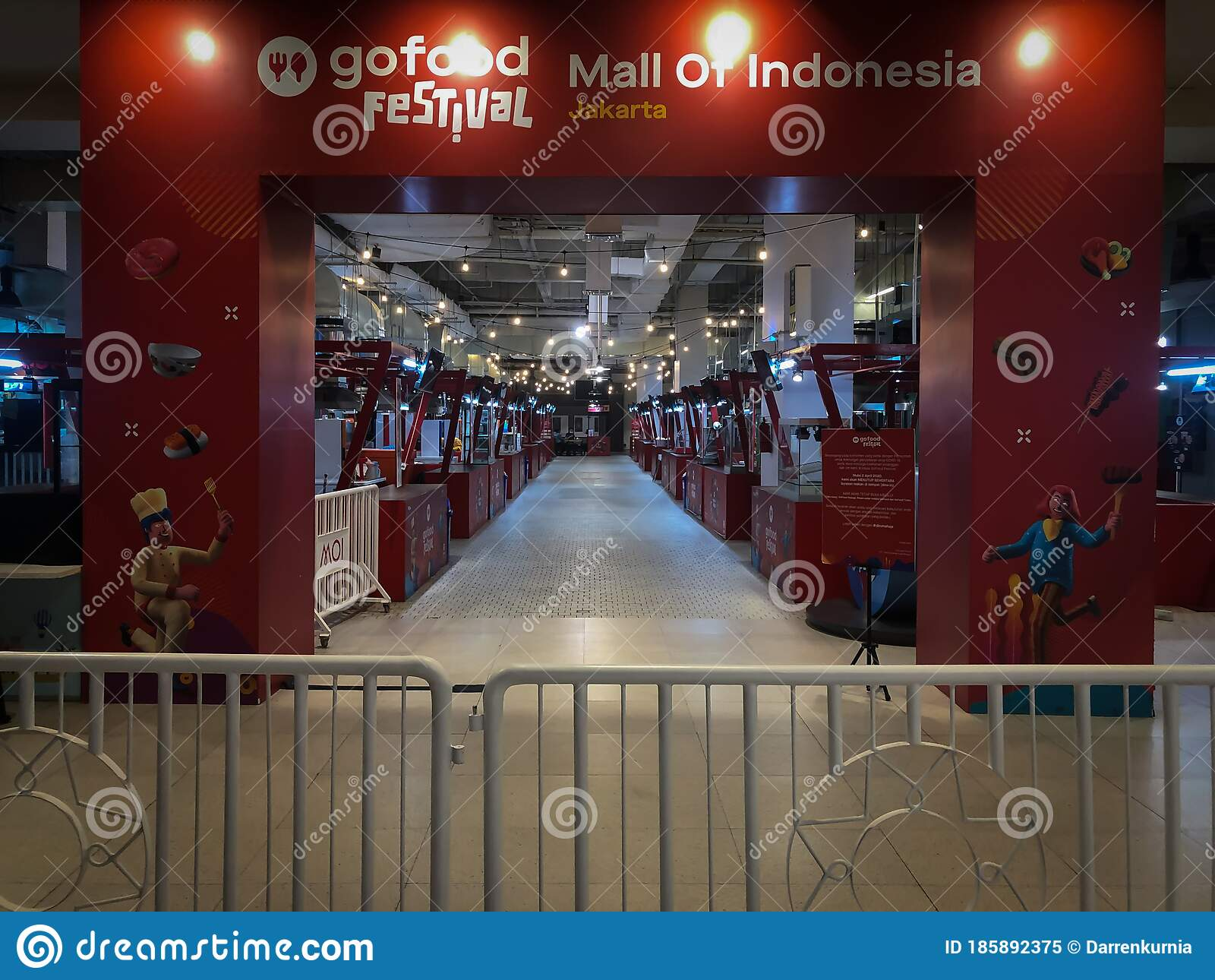 Jakarta 7 Jun 2020 Go Food Festival At Mall Of Indonesia Situation During Covid 19 Semi Lockdown In Jakarta Psbb Dine Ins Ar Editorial Image Image Of Asian Jakarta 185892375
