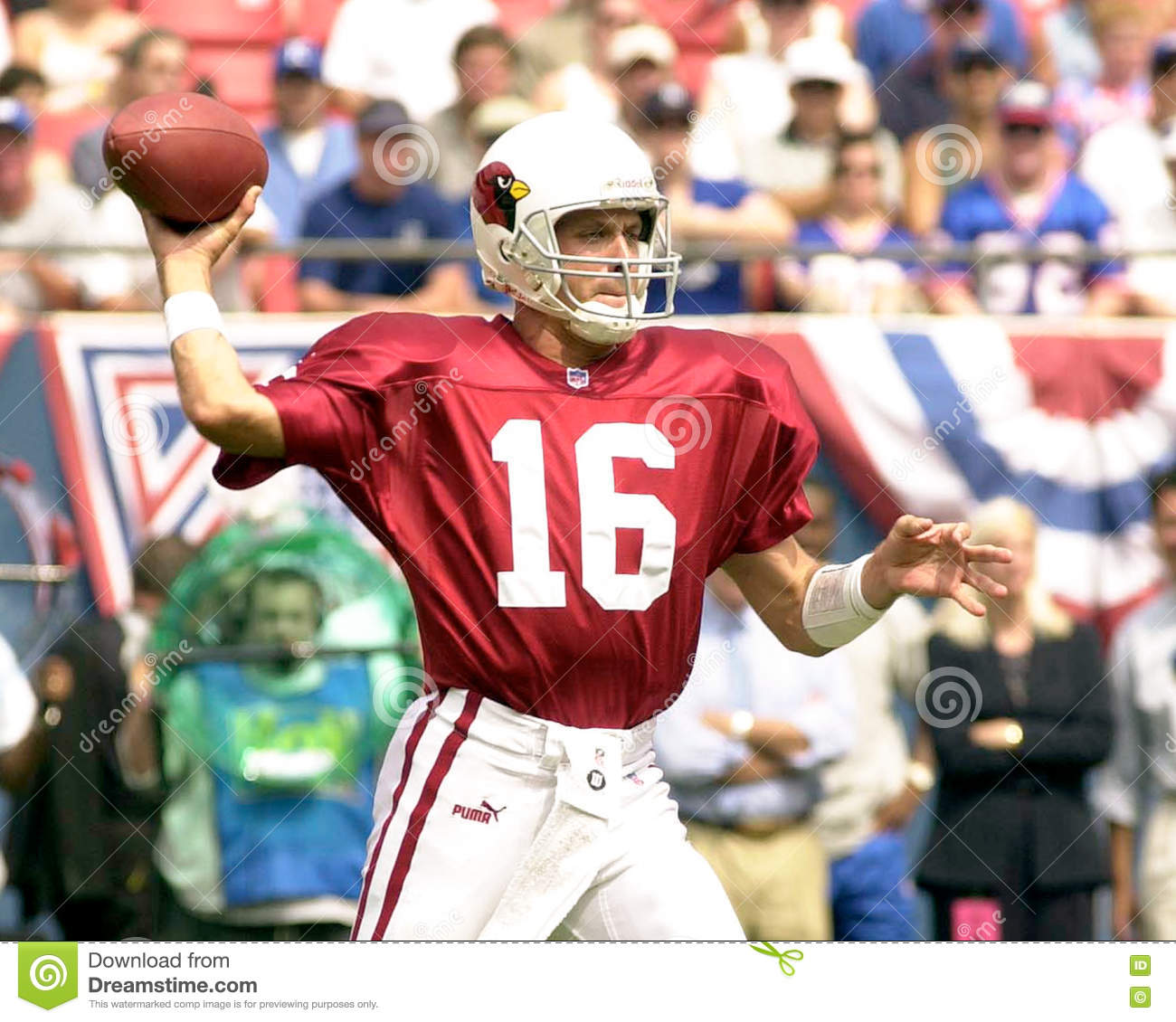 bb5d22e2bf7 Quarterback Jake Plummer of the Arizona Cardinals in game action against  the New York Giants. The New York Giants went on to defeat the Arizona  Cardinals by ...