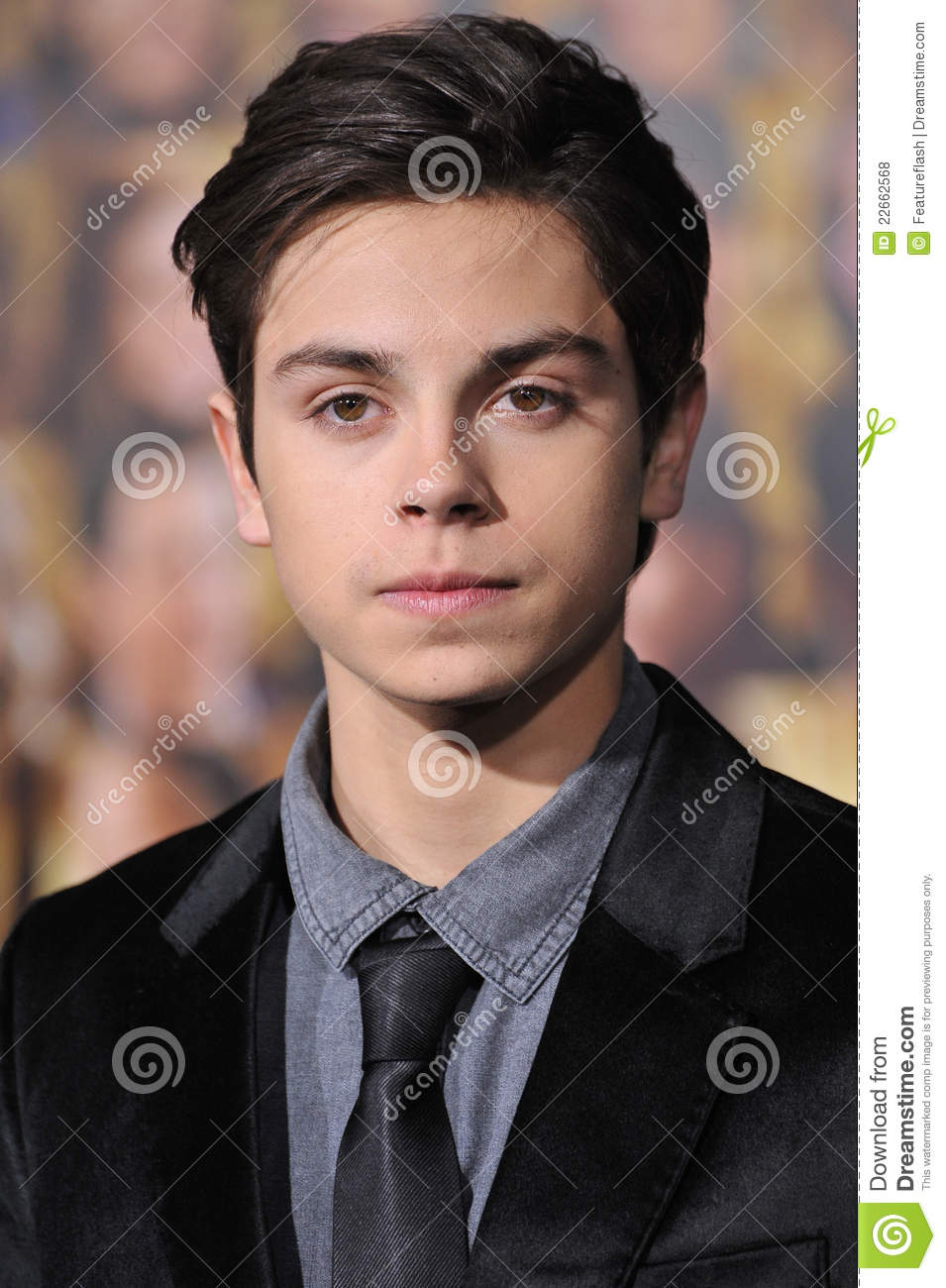 Jake T Austin, editorial stock photo. Image of december ...