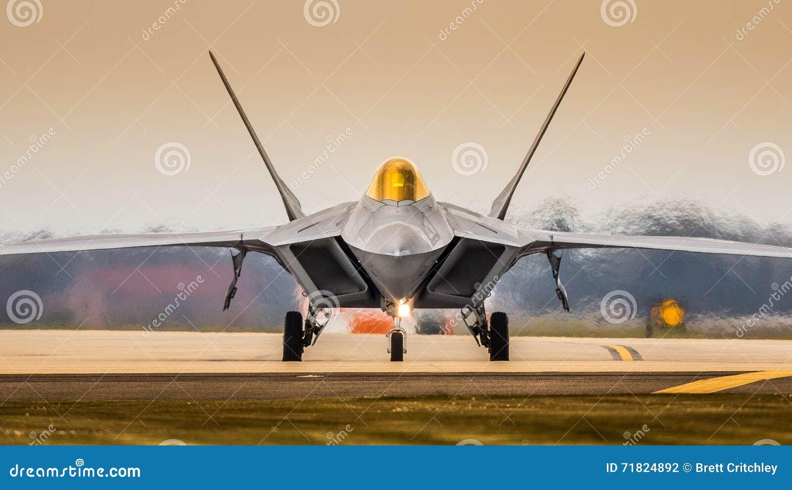 Jaktflygplan F22