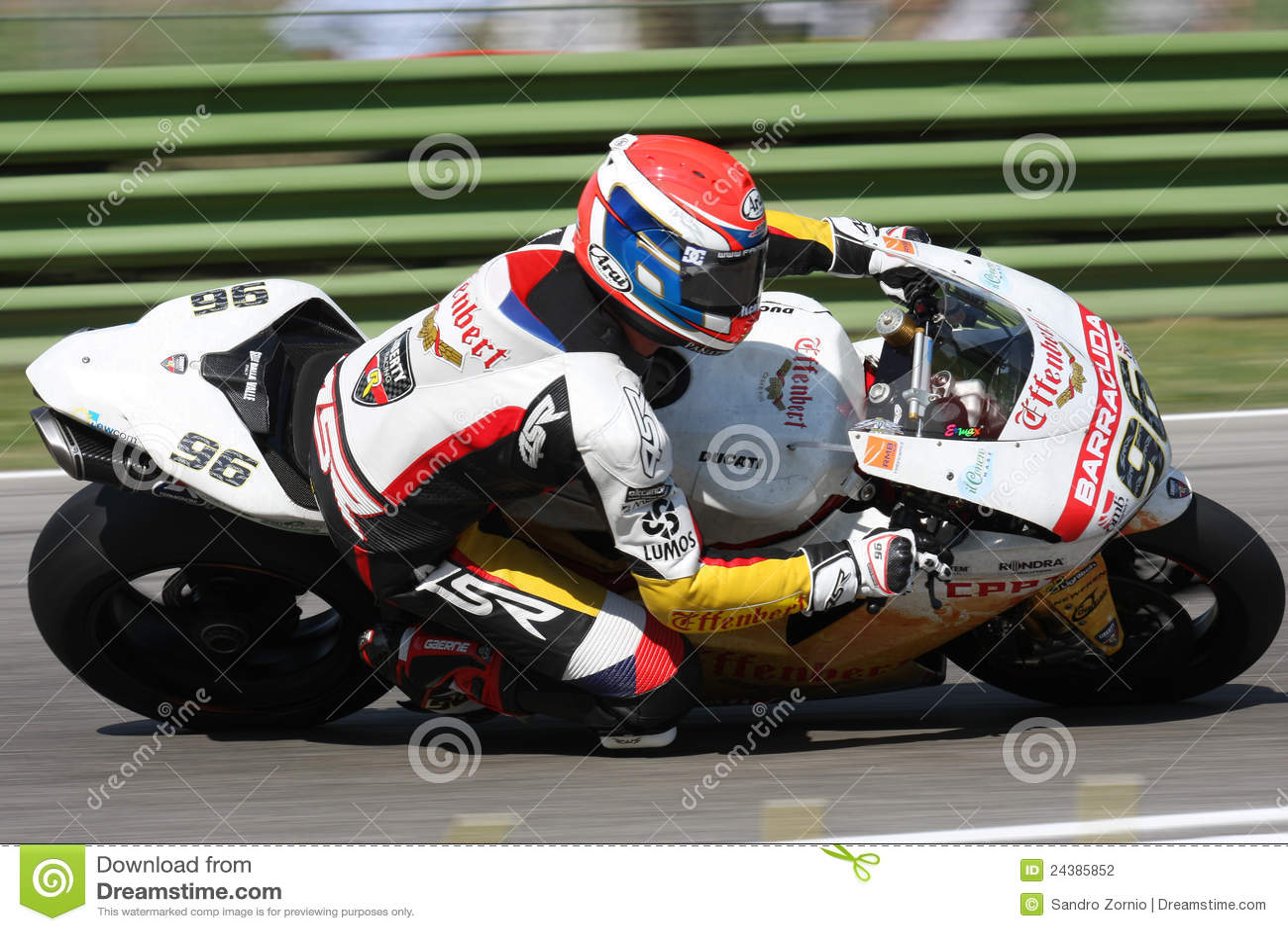 Jakub Smrz - Ducati 1098R - Team Effenbert Liberty