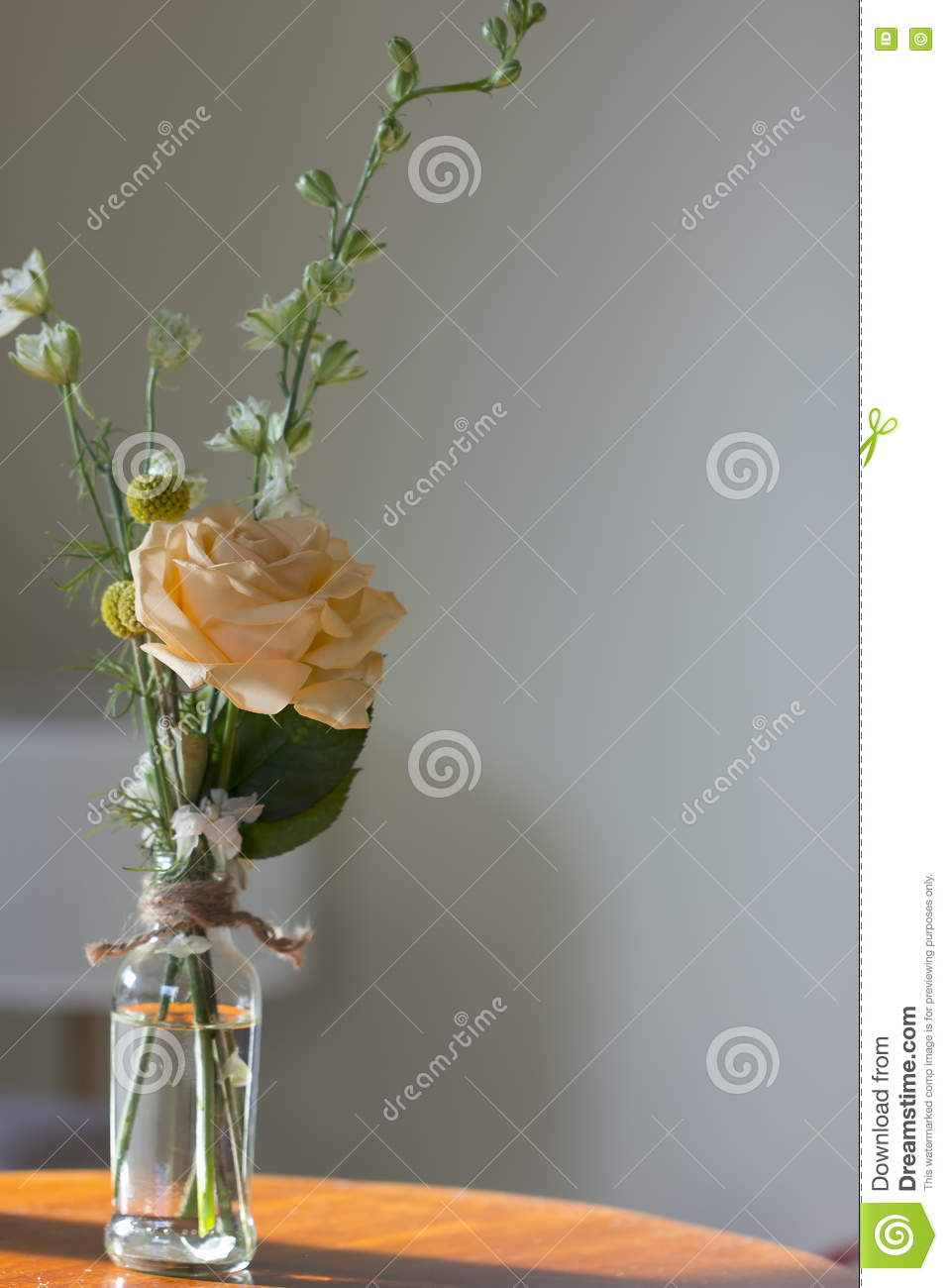 Jam Jar Flowers Stock Photo Image Of Bottle Homemade 75159436