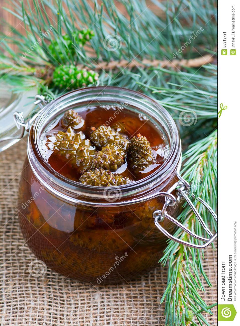 Pine cones jam. The most delicious cooking recipes 9