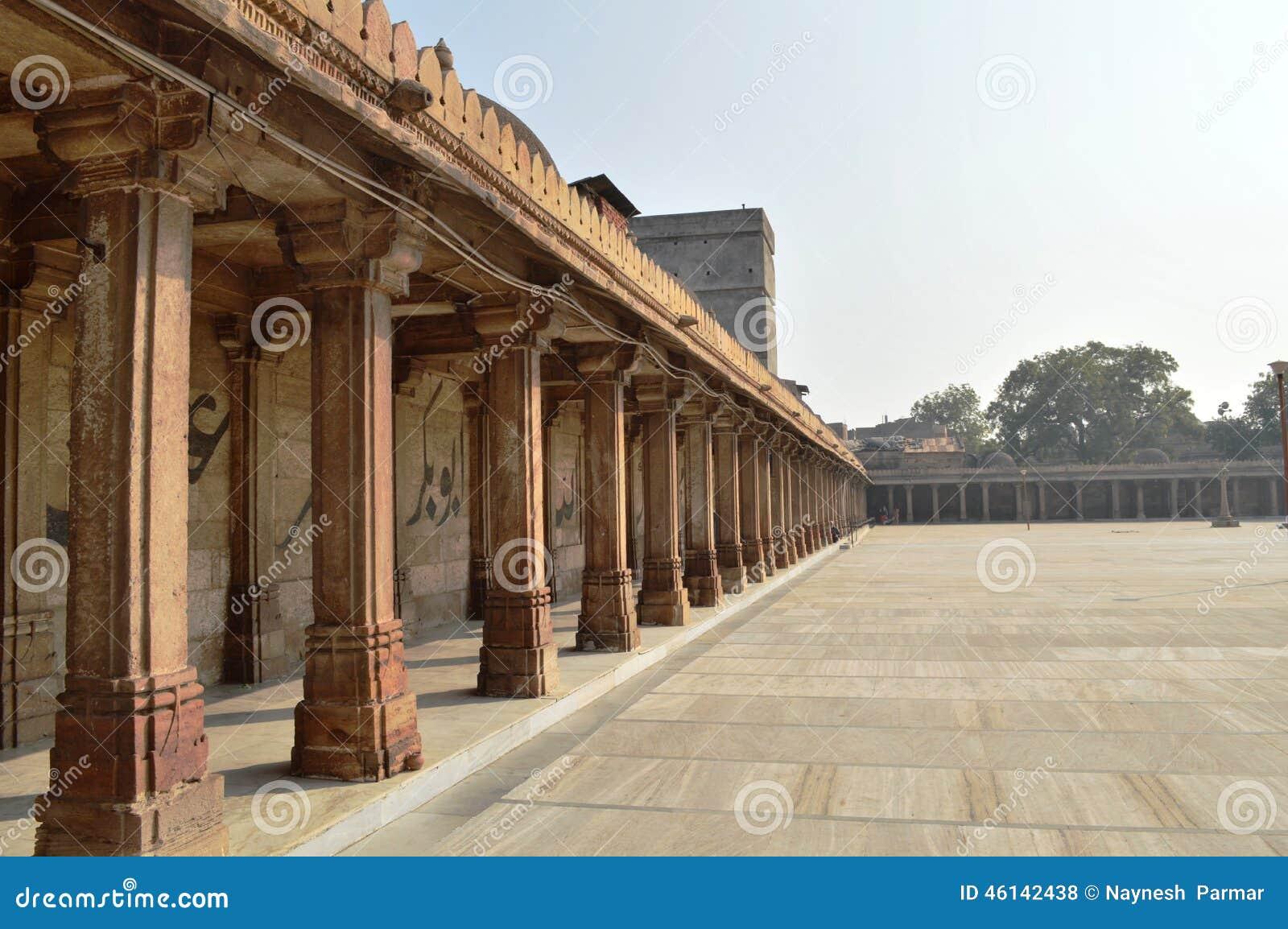 Jama Masjid Ahmedabad Stock Photo Image Of Gandhi More 46142438