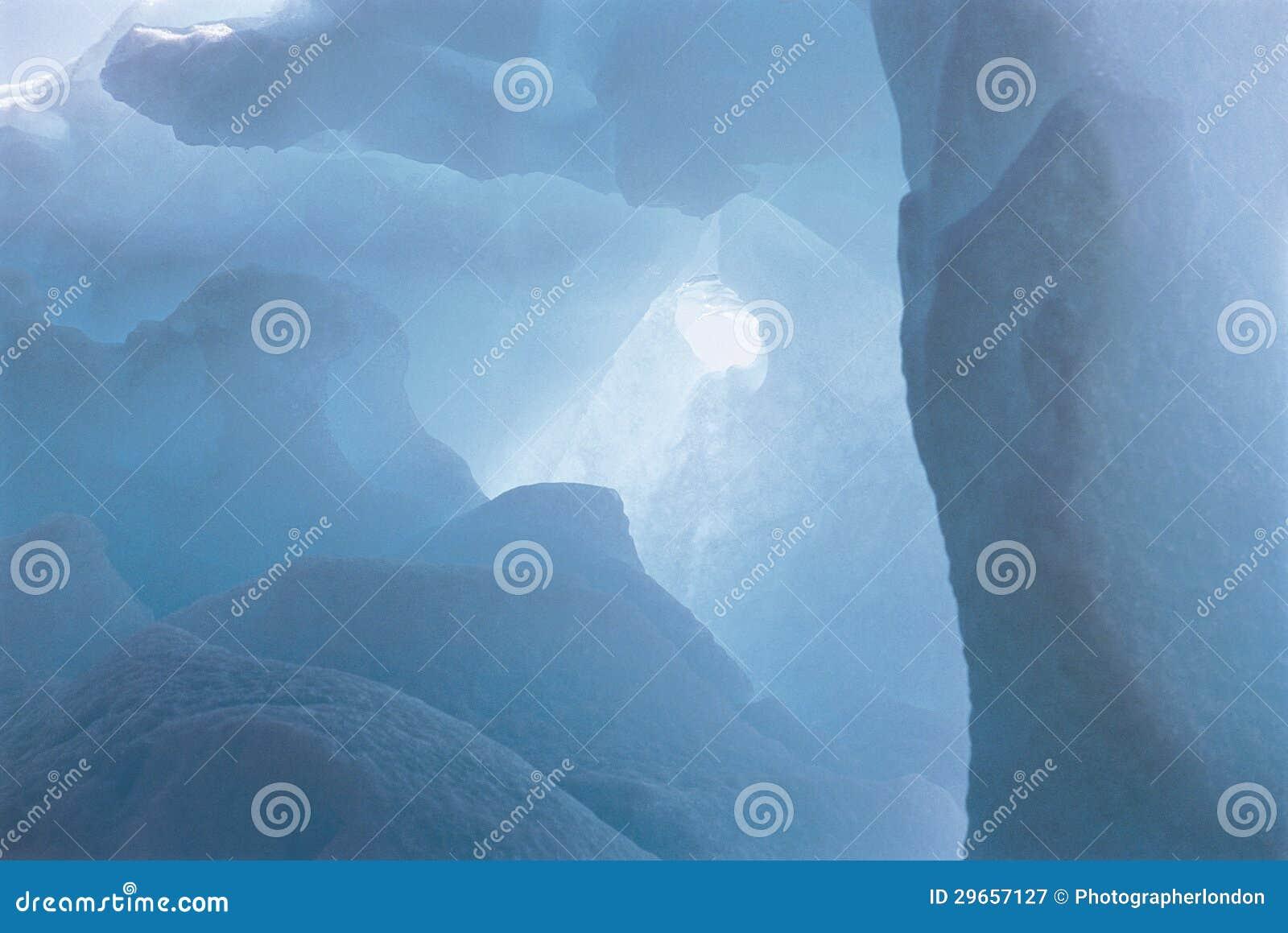 Jama W lodzie