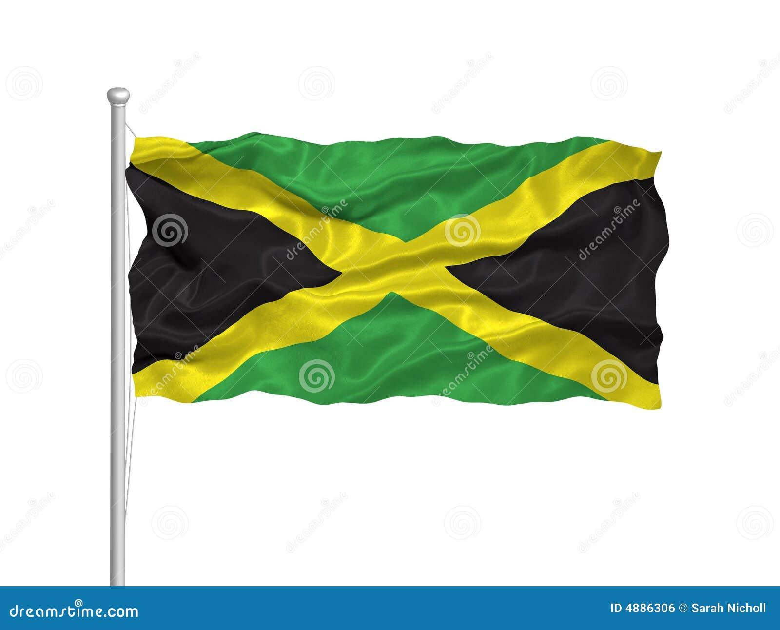 jamaican flag pole - photo #20
