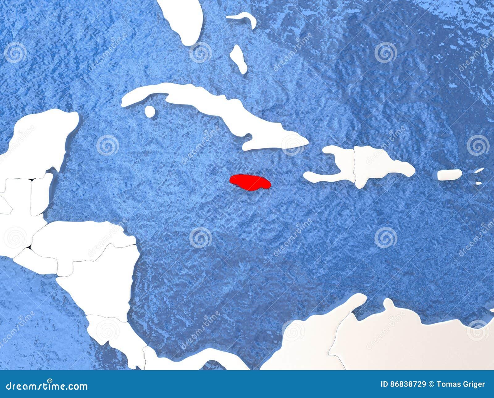 Jamaica on globe stock illustration illustration of illustration jamaica on globe gumiabroncs Gallery