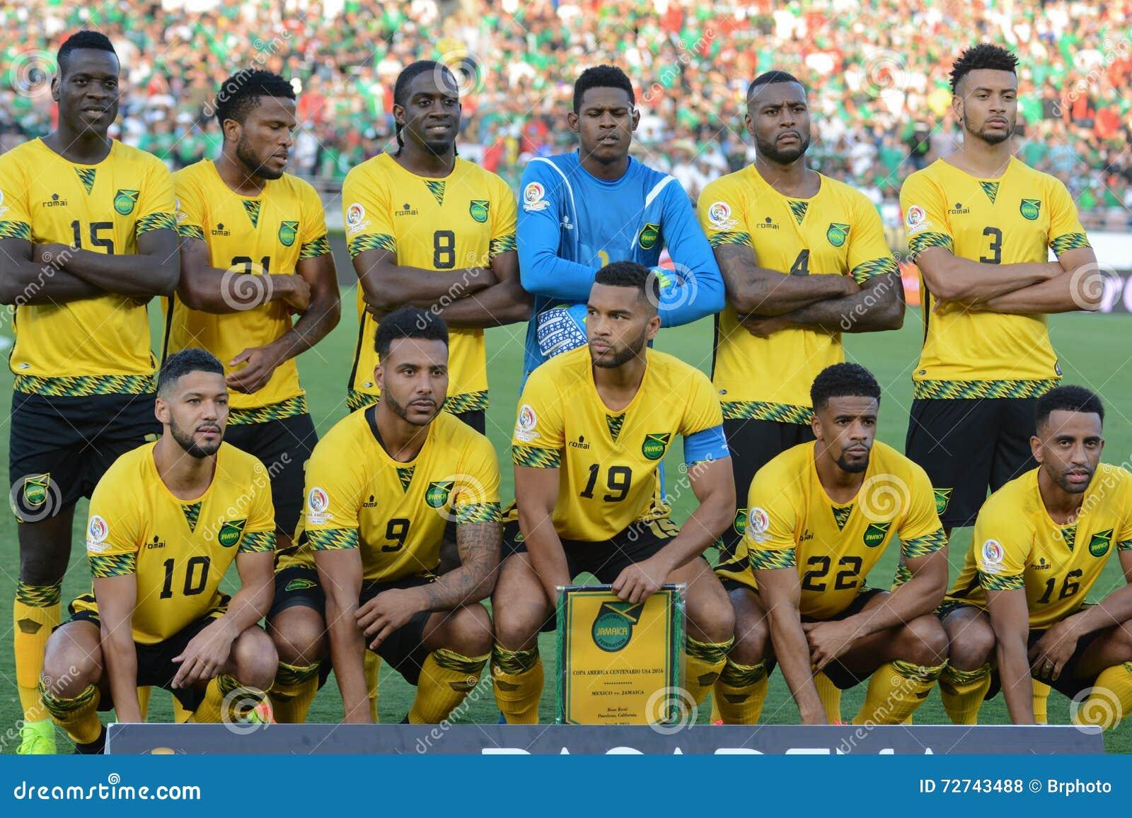 best website a80e0 60820 Jamaica National Team Players During Copa America Centenario ...