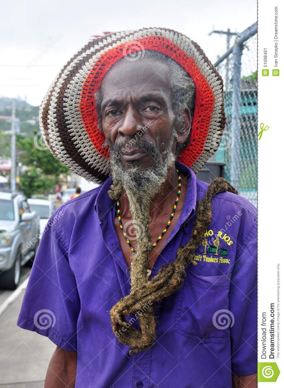 Jamaica People Rasta Man Editorial Photo Image Of Head