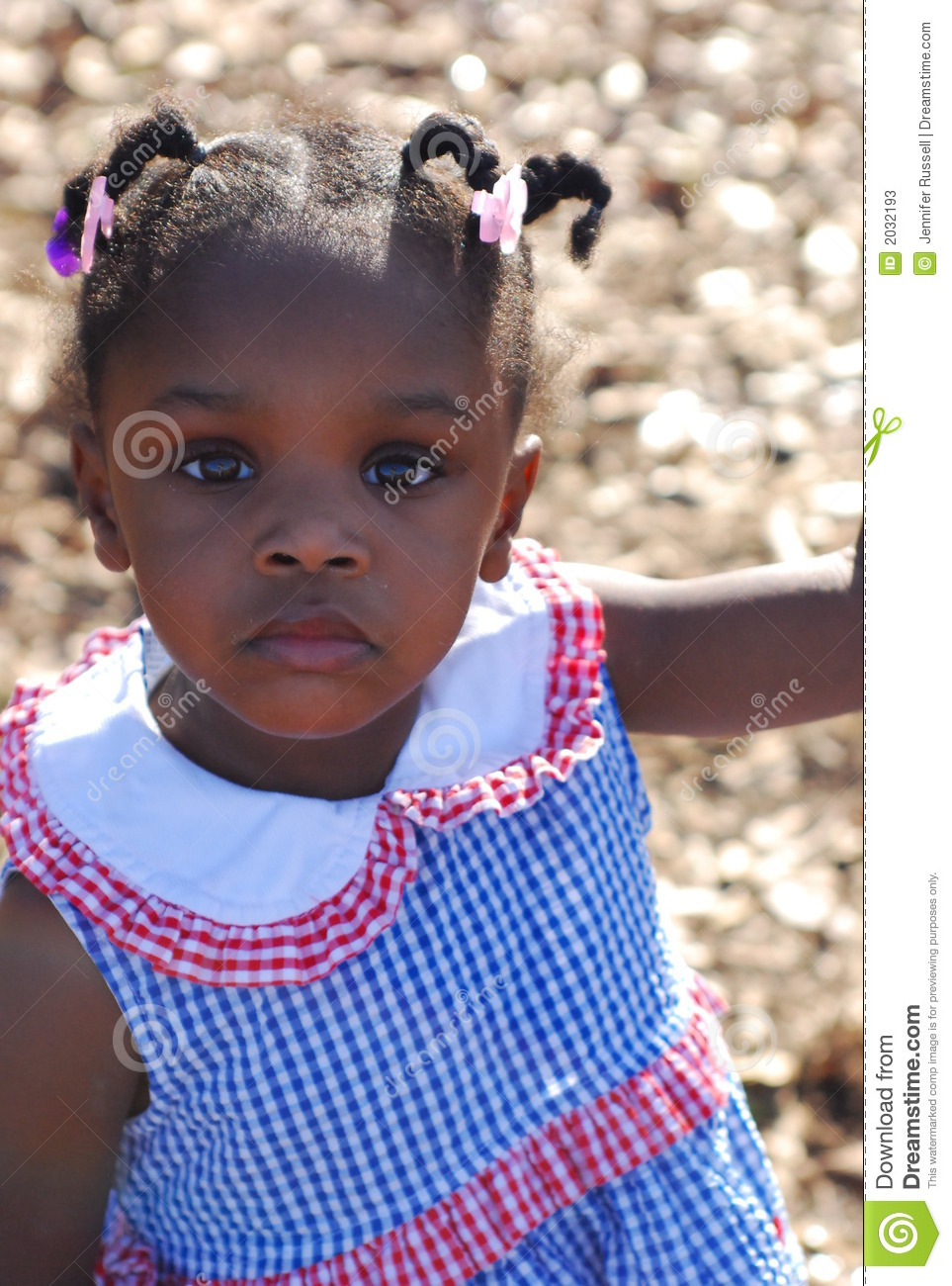 Jamaican Child Stock Image Image Of Serious Stare