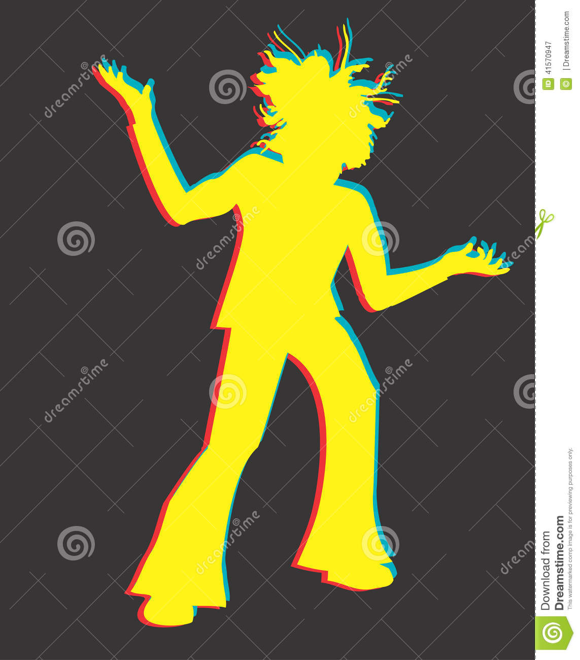 Jamaican Man Vector Design Clipart Stock Vector - Image: 41570947