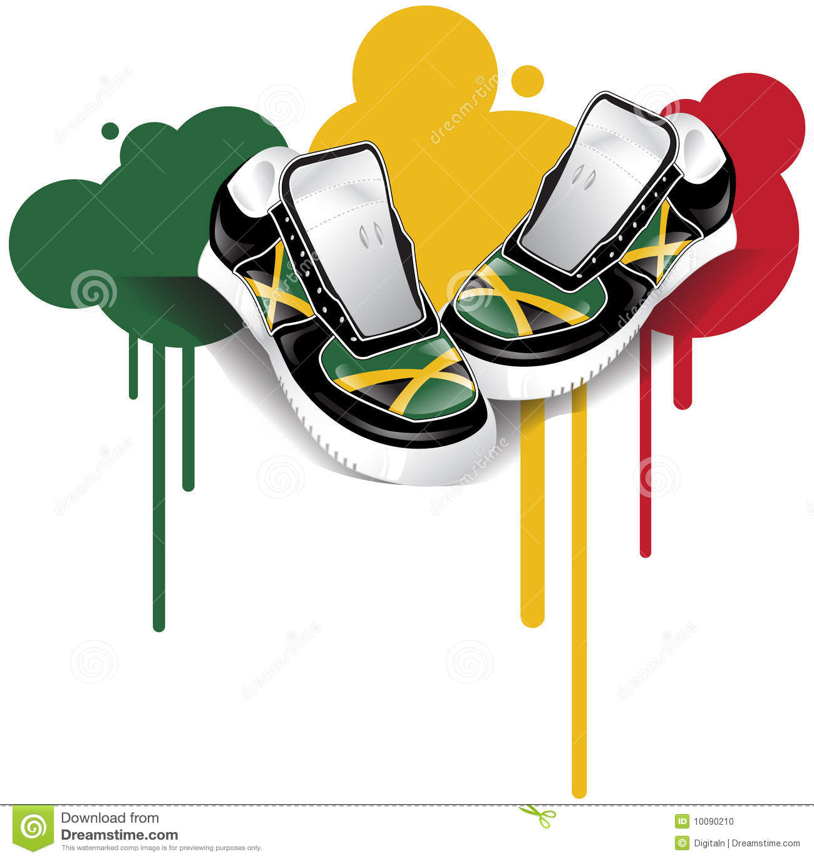 Jamajscy sneakers