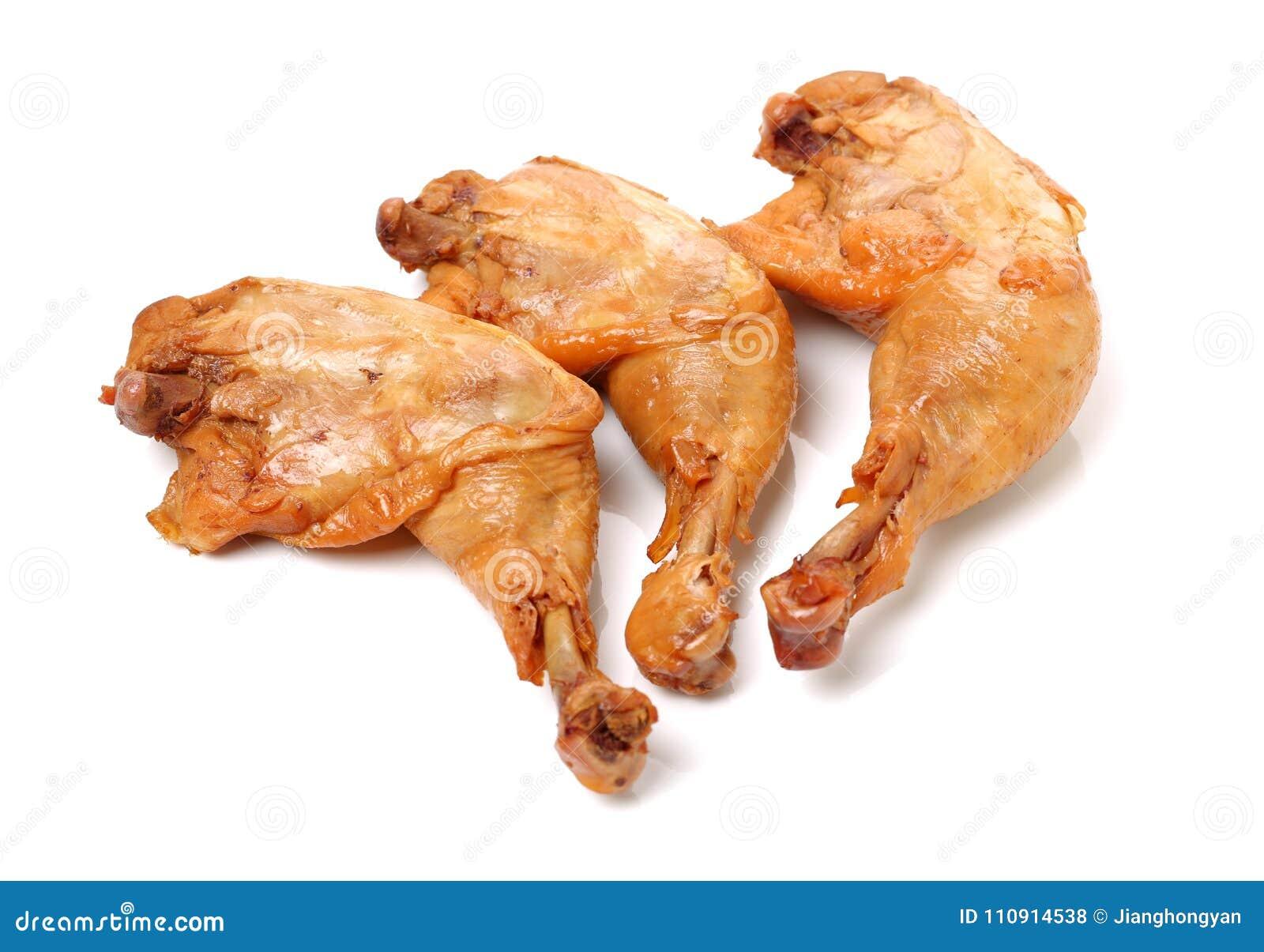 Jambe de poulet rôti