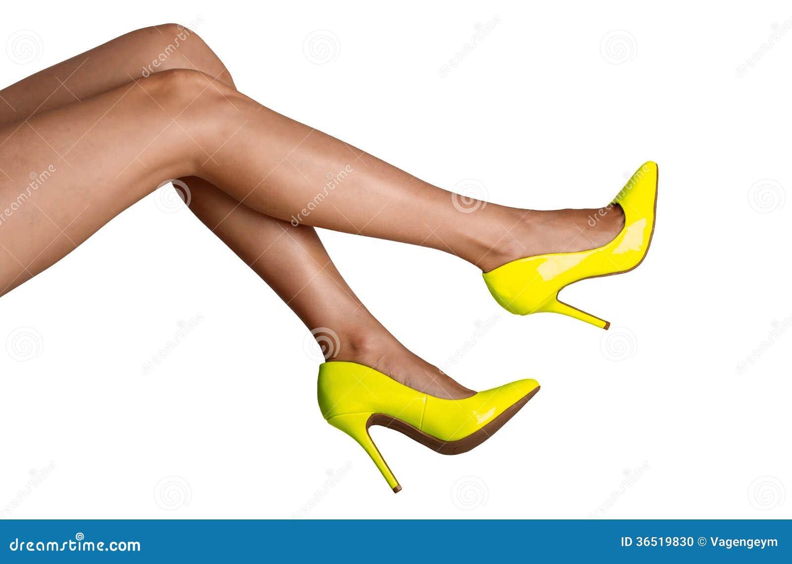 Jambes femelles