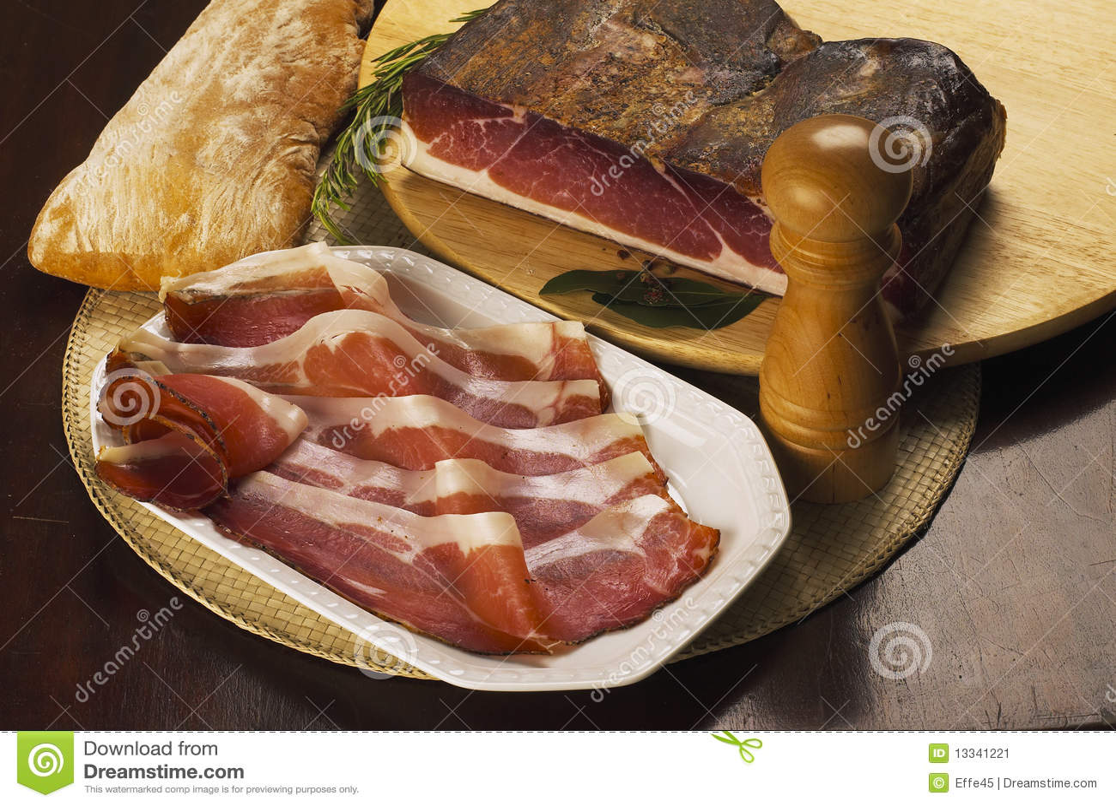 Jambon italien de point