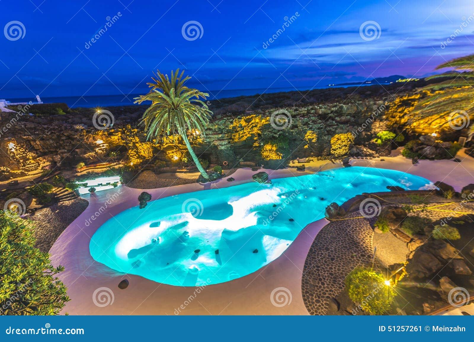 Jameos del agua lanzarote islas canarias espa a foto editorial imagen 51257261 - Se puede banar en los jameos del agua ...
