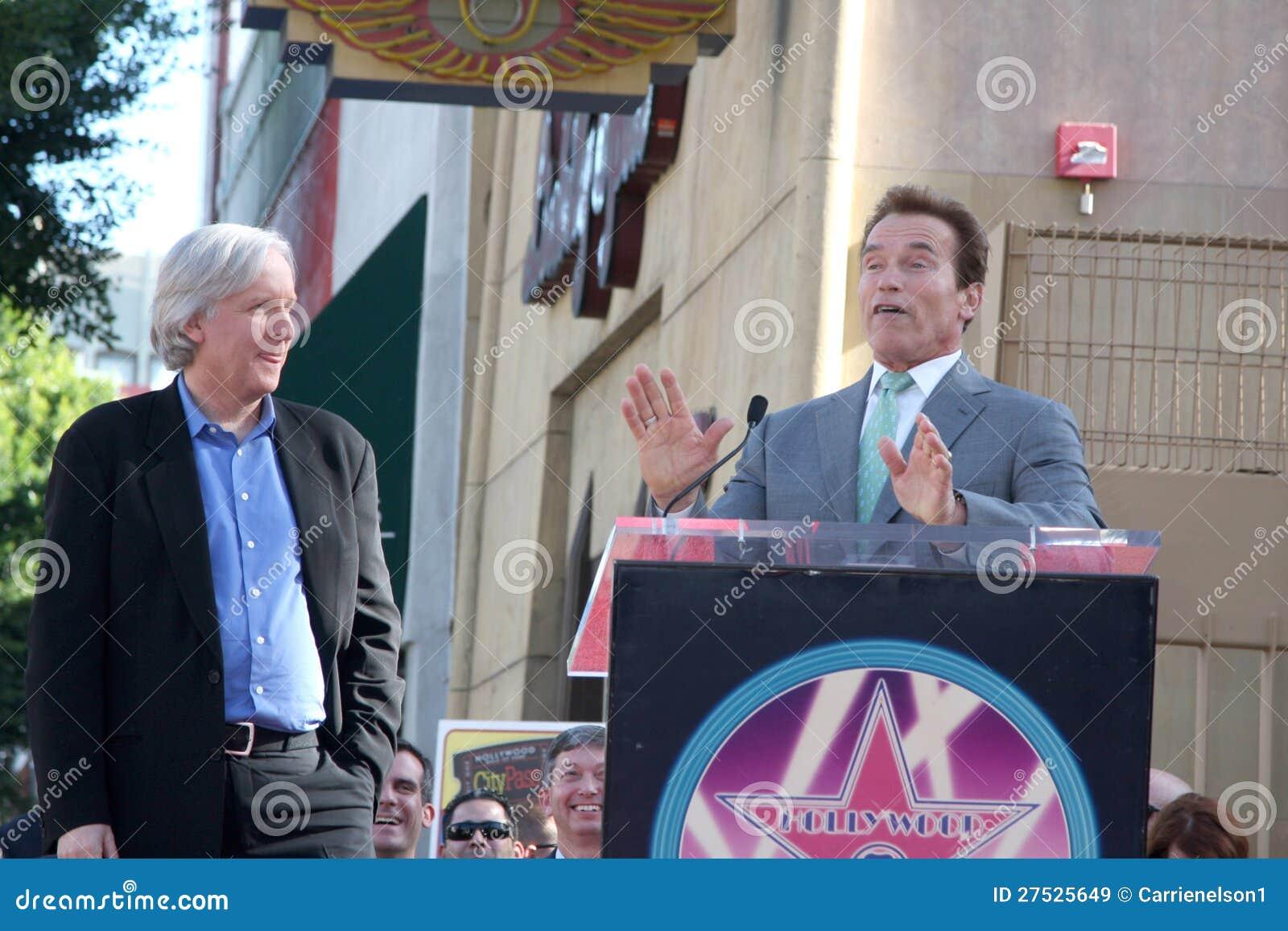 James Cameron, Arnold Schwarzenegger