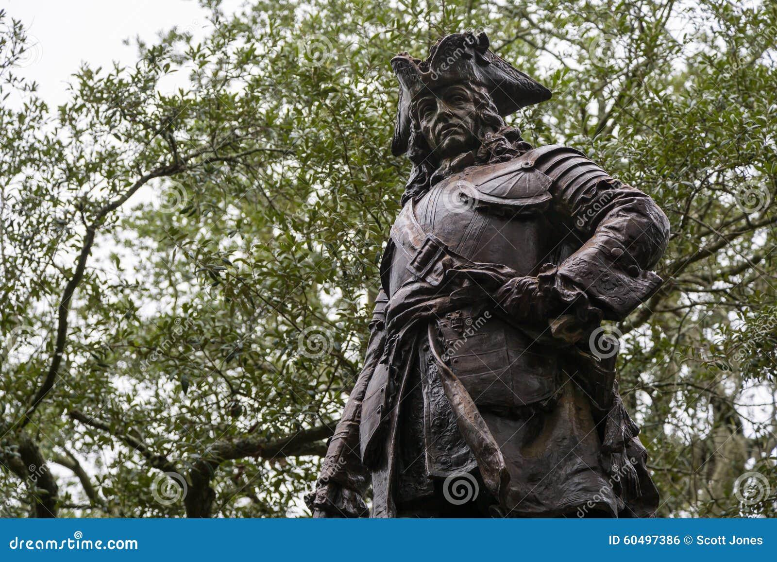 James Oglethorpe Statue