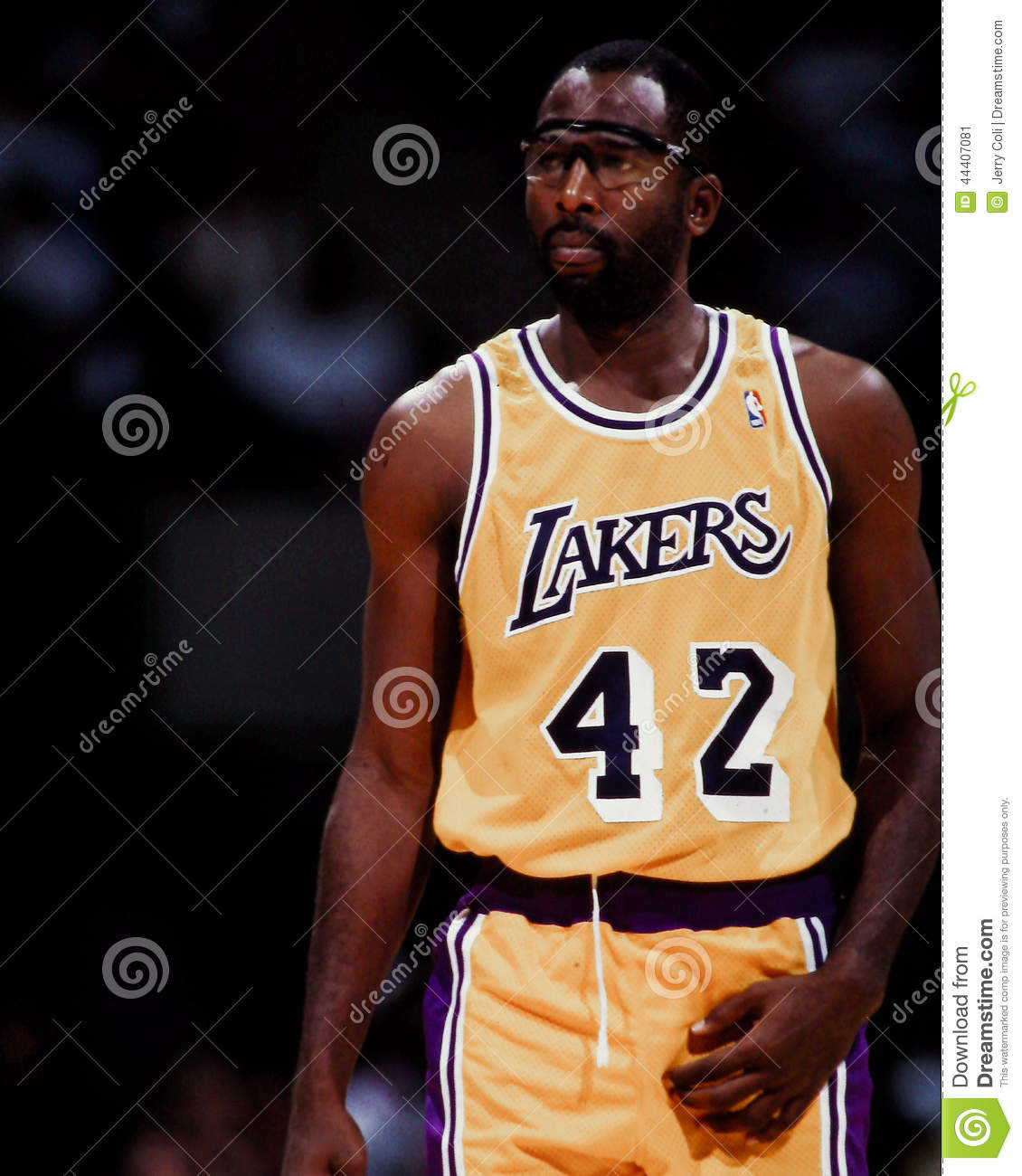 James Worthy Los Angeles Lakers Editorial Image