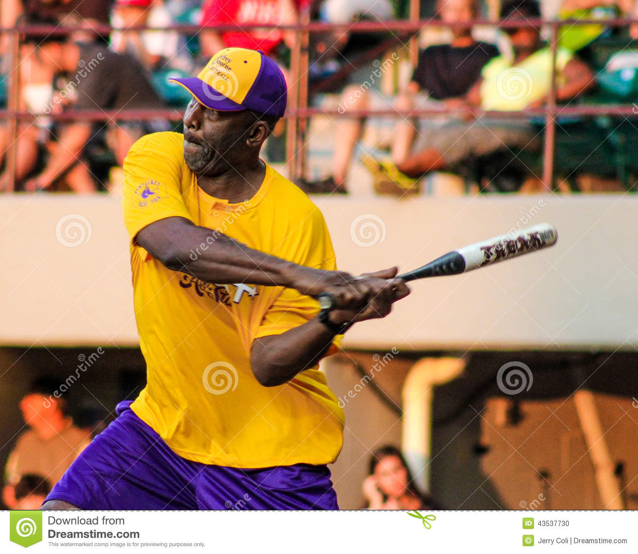 James Worthy Takes A Swing. Editorial Image - Image: 43537730