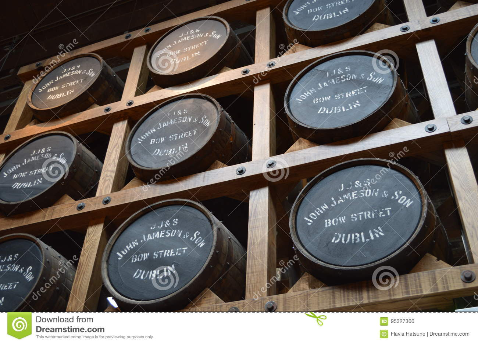 Jameson Distillery à Dublin