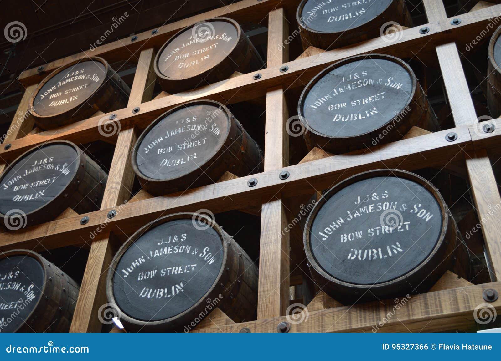 Jameson Distillery em Dublin