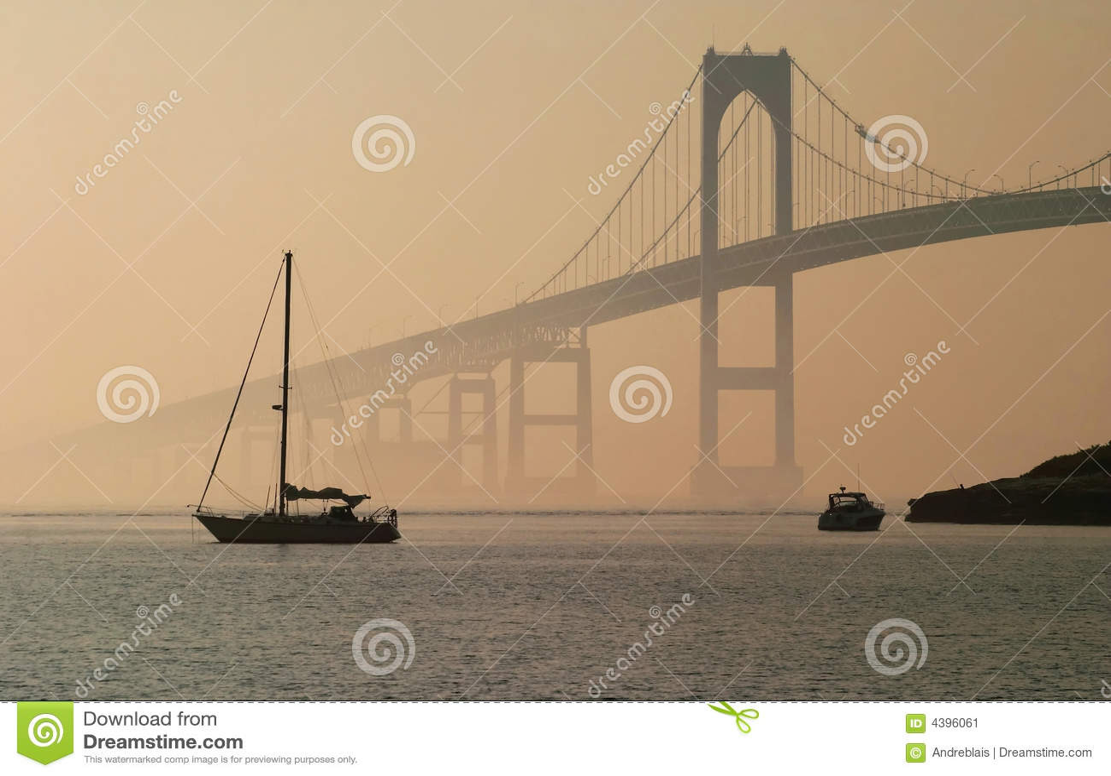 Jamestown Verrazano Brücke, RI