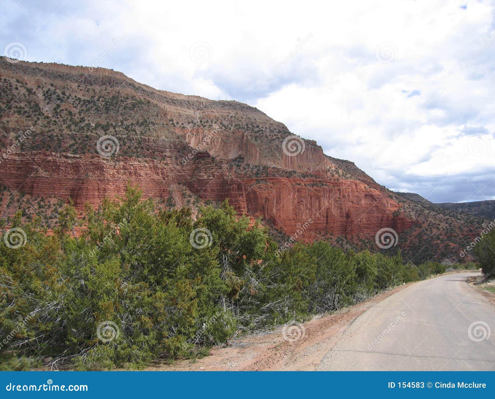 Jamez, New Mexico Road