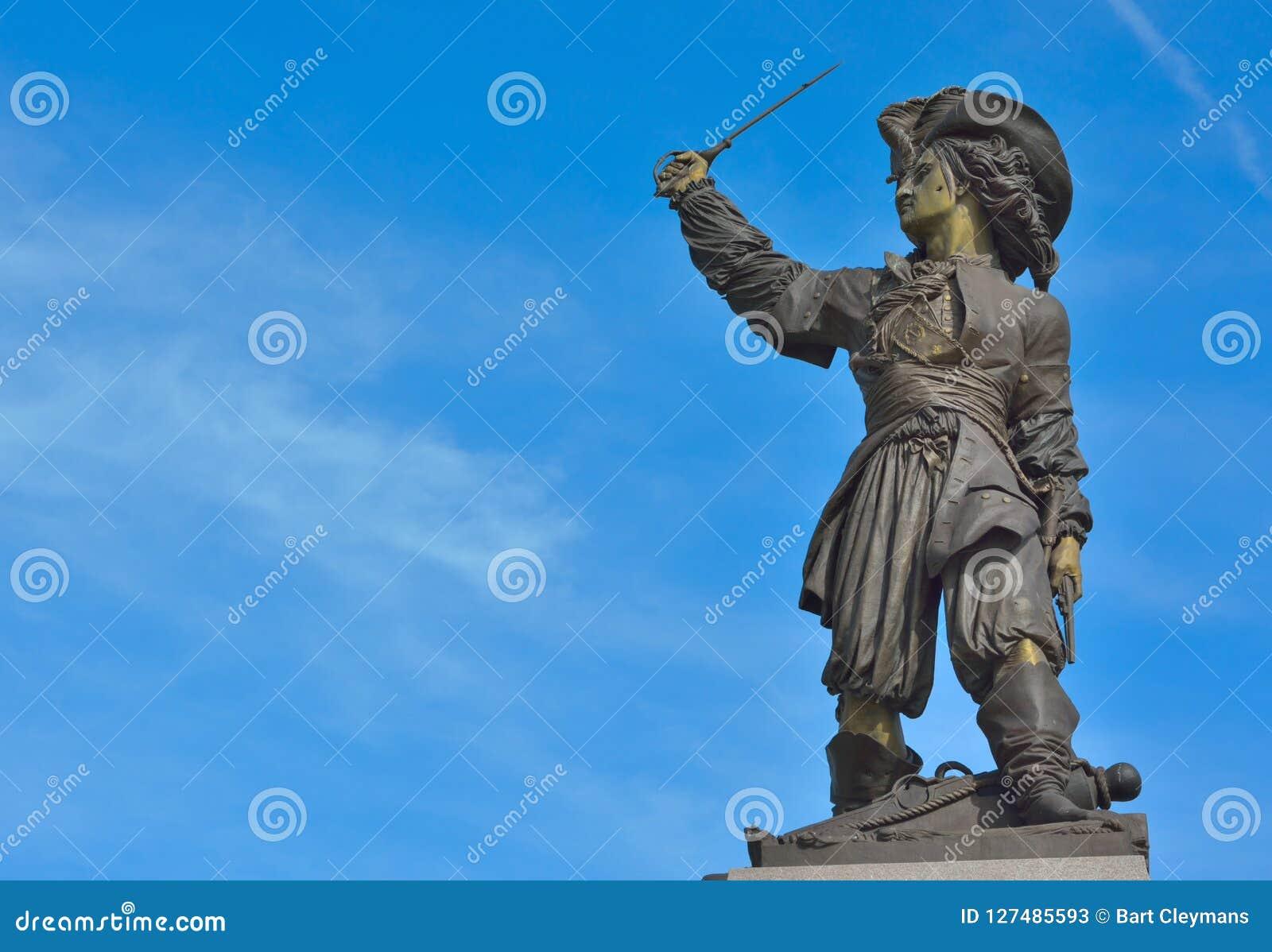 Jan Baert, igualmente conhecido para seu nome francês Jean Bart, [1] Dunkirk, o 21 de outubro de 1650 27 de abril de 1702 era um