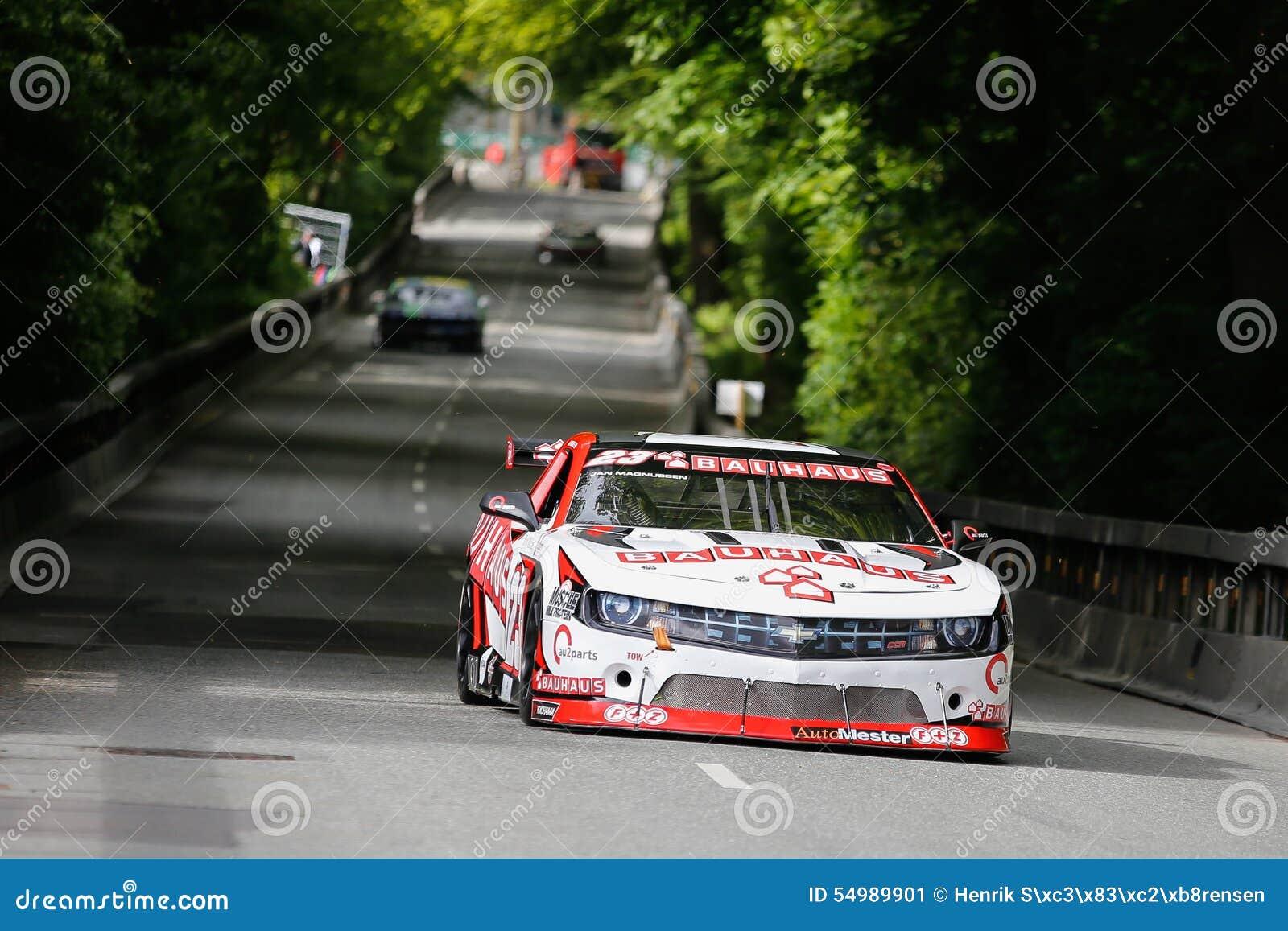 Jan Magnussen que conduz a raça