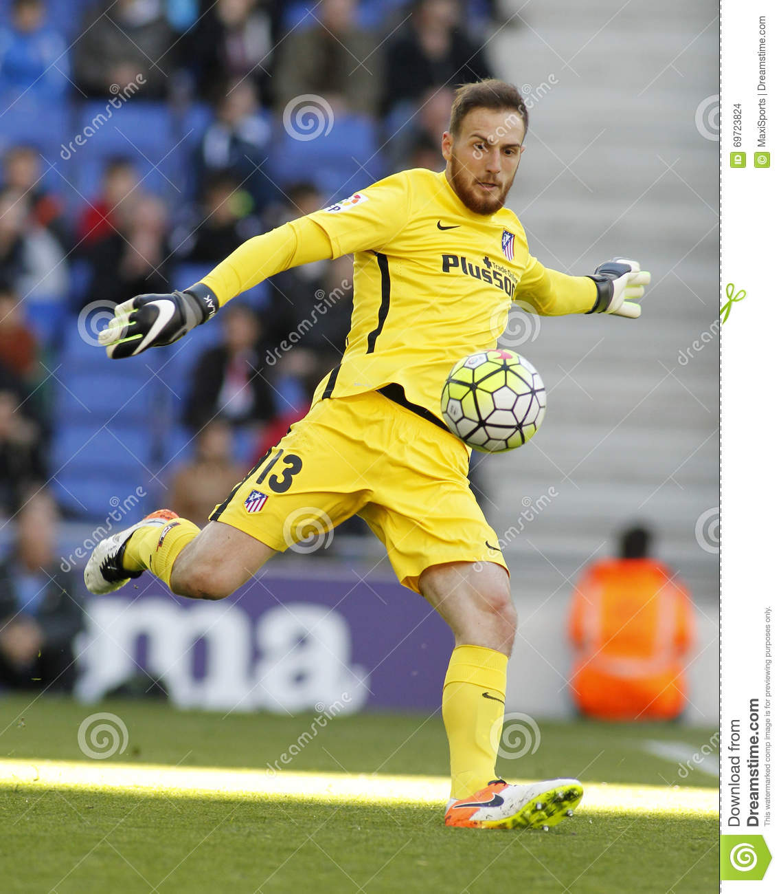 Jan Oblak Atletico Madrid Editorial Stock Image Image