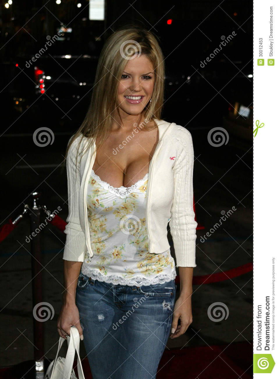 Jana Speaker at the The World Premiere of Guess Who, Grauman's Chinese