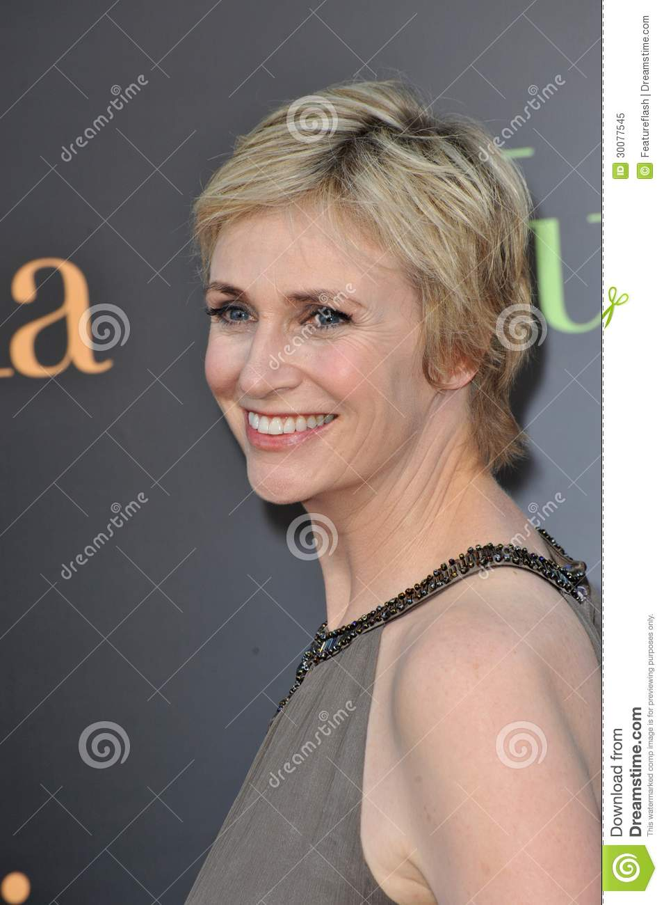Jane Lynch Immagine Editoriale - jane-lynch-al-prima-di-los-angeles-del-suo-nuovo-film-%25E2%2580%259Cjulie-amp-julia%25E2%2580%259E-al-teatro-del-villaggio-di-mann-westwood-luglio-los-30077545