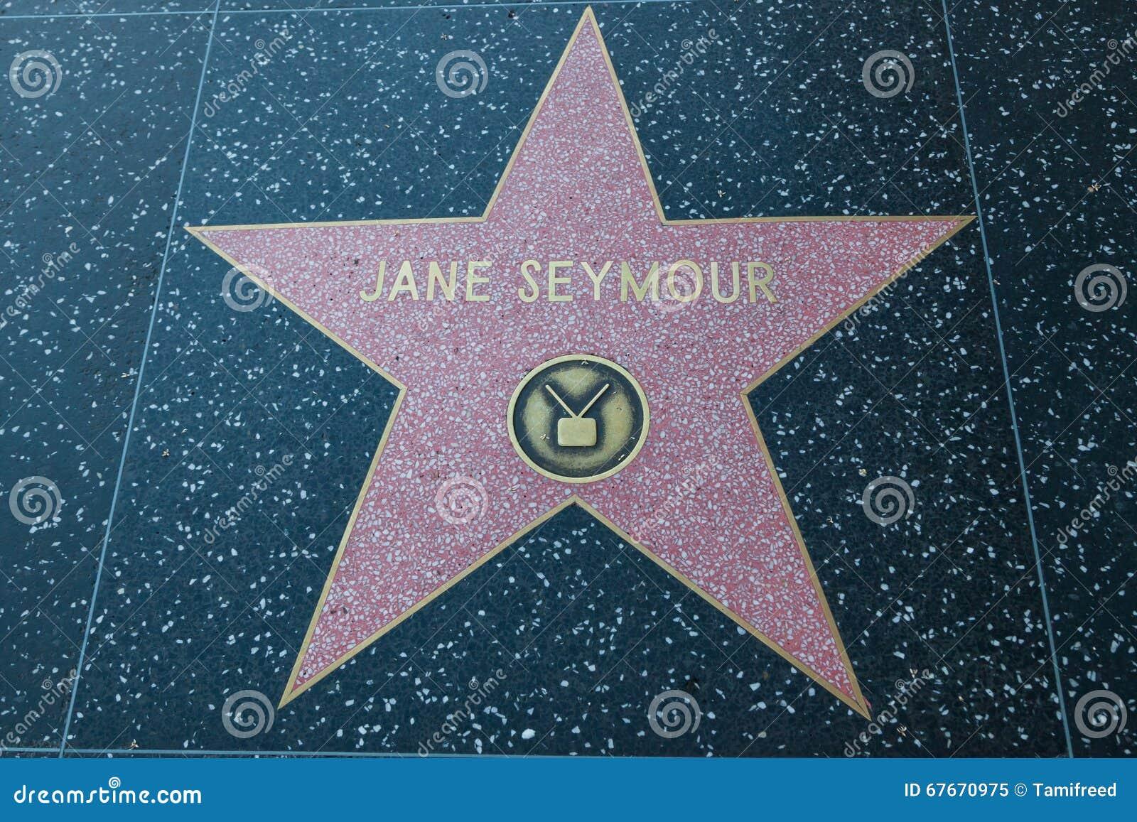 Jane Seymour Hollywood Star