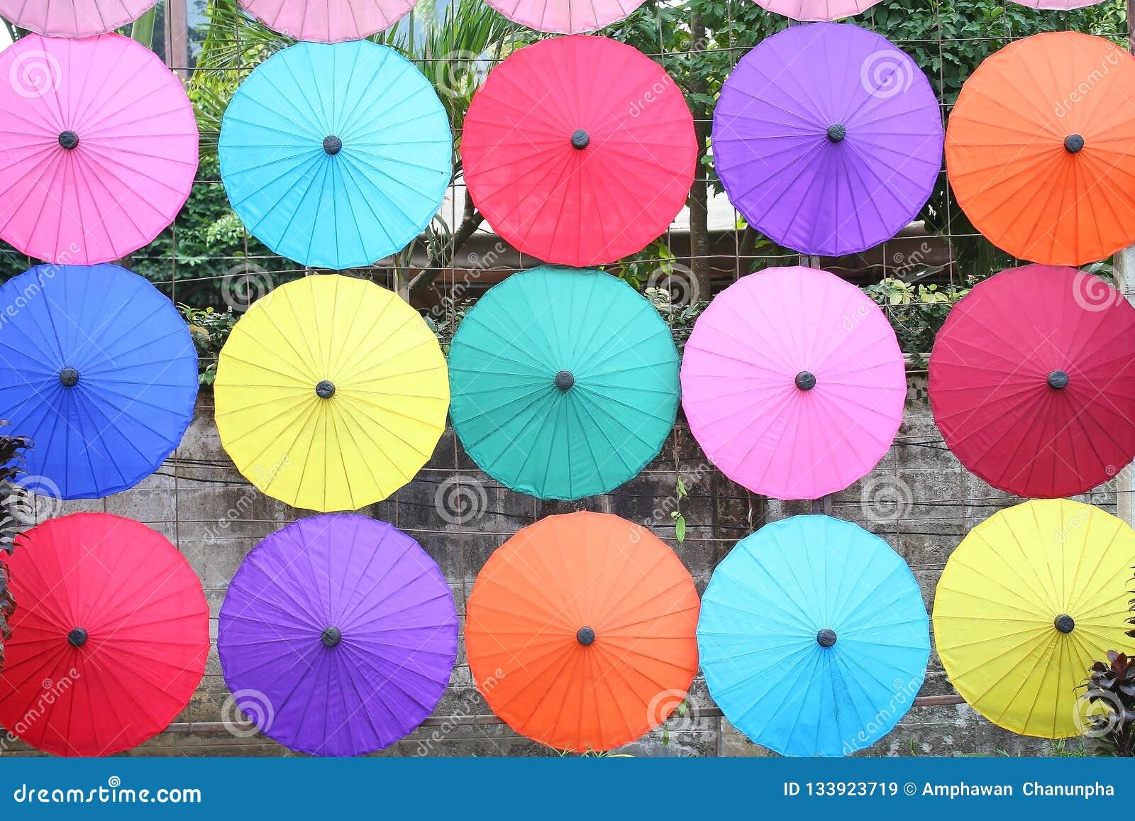 Janeiro, 19,2018, BO Sang Umbrella Festival Guardado em janeiro de todos os anos BO Sang Umbrella Handicraft Centre Distr de San
