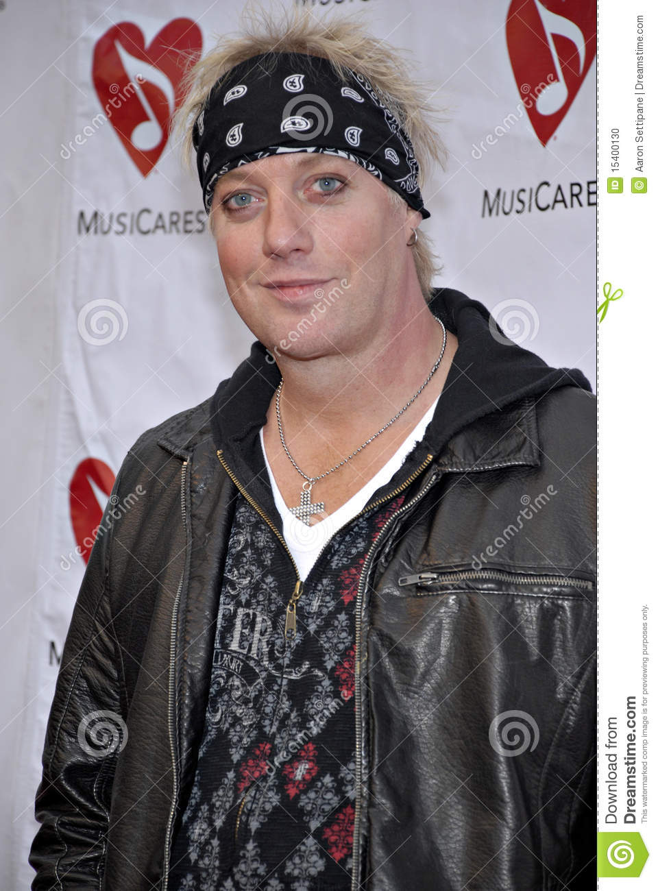 Jani Lane on the red carpet.
