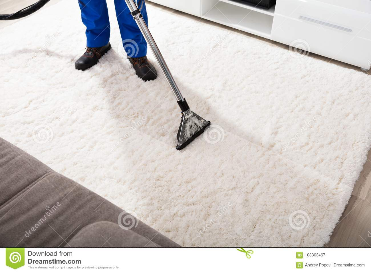 how to clean carpet without vacuum cleaner