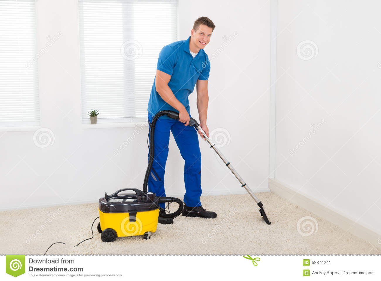 Janitor Cleaning dywan