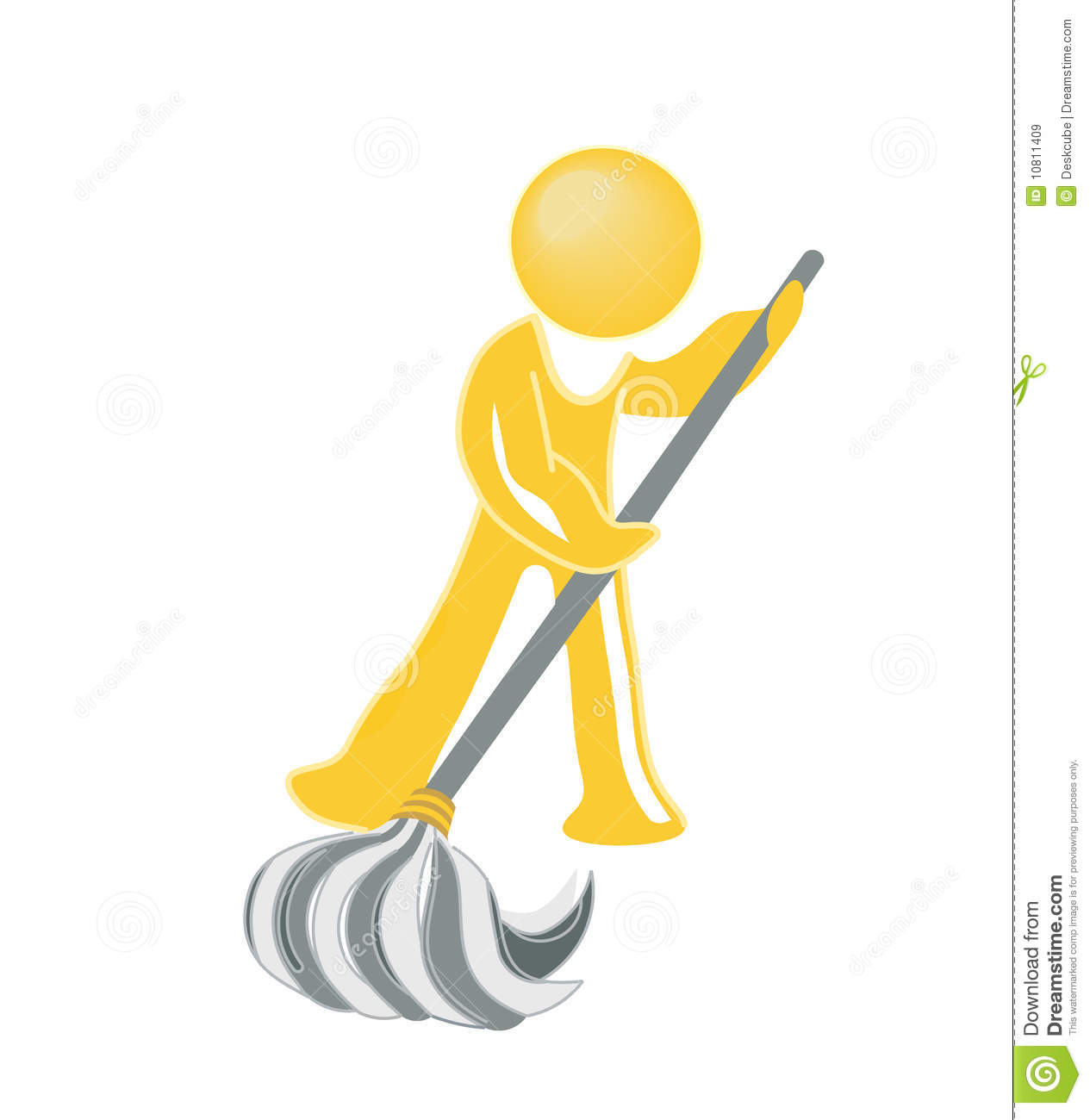 Janitor Icon Royalty Free Stock Images Image 10811409