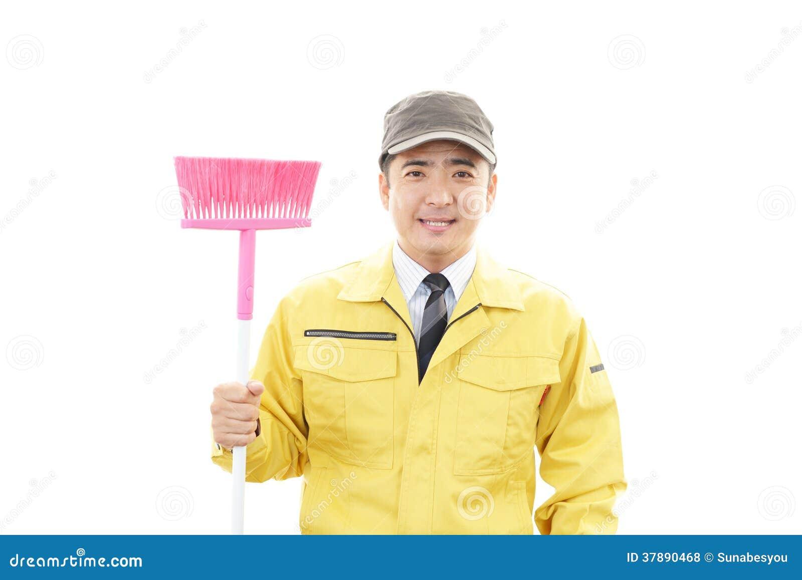Janitorial schoonmakende dienst